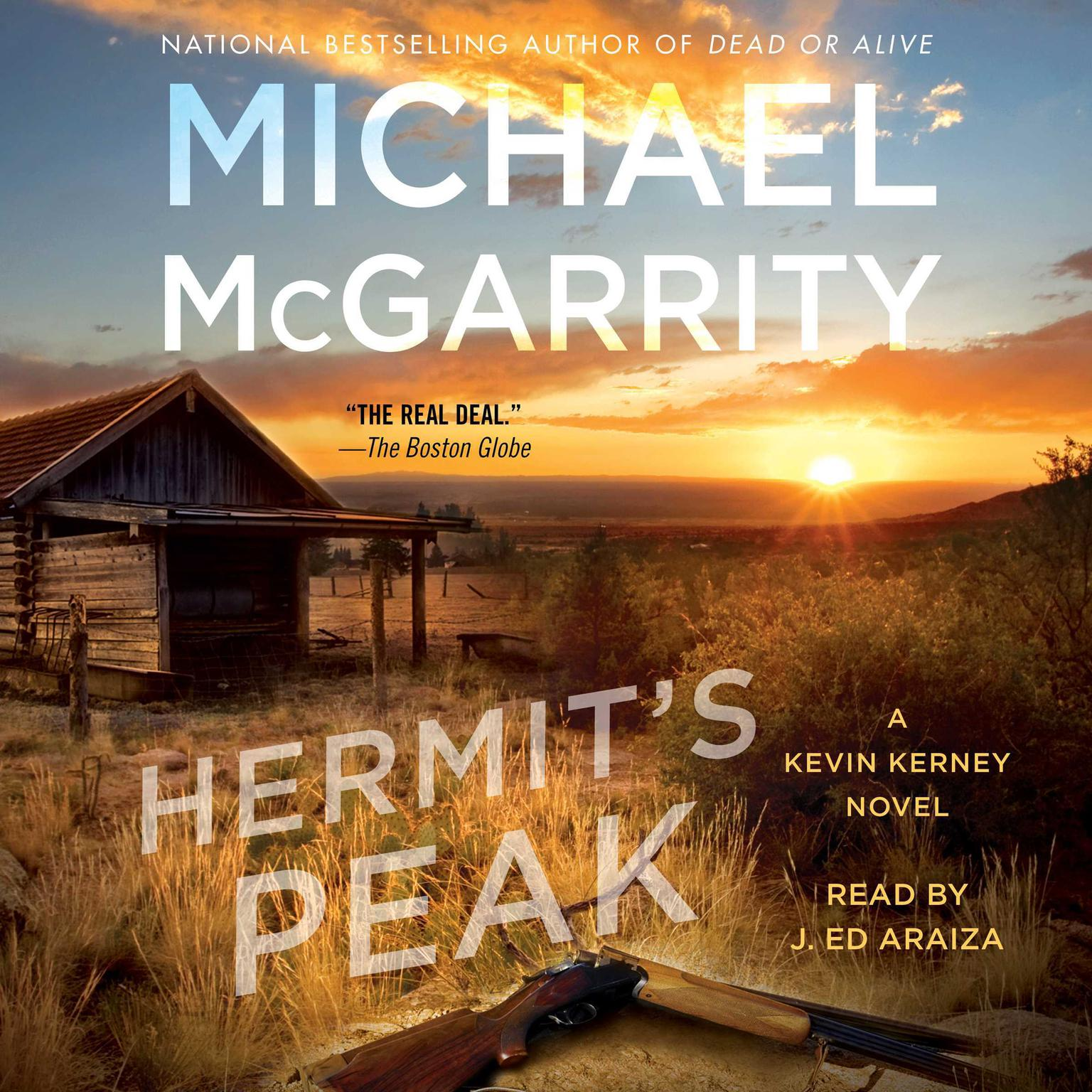 Printable Hermit's Peak: A Kevin Kerney Novel Audiobook Cover Art