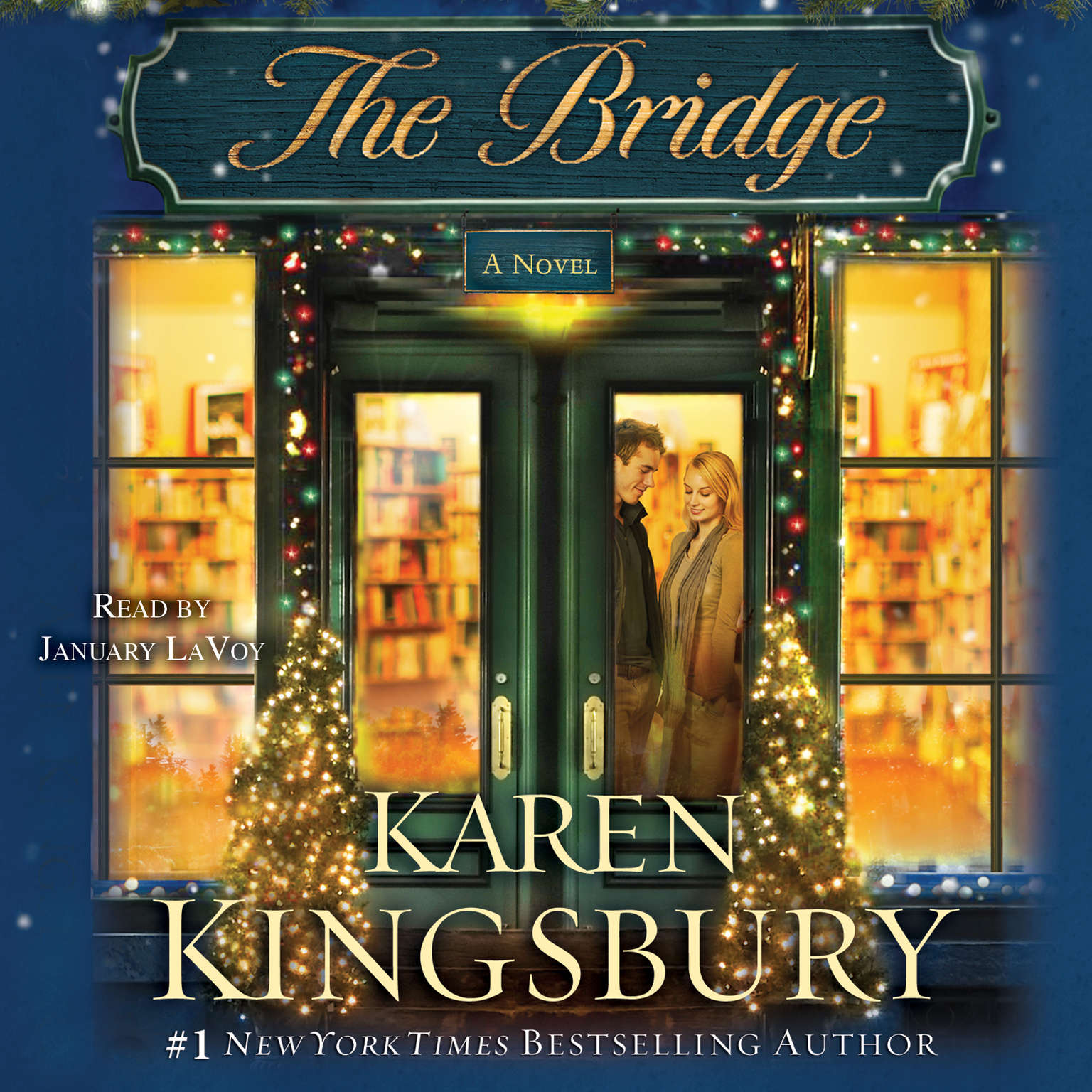Printable The Bridge: A Novel Audiobook Cover Art