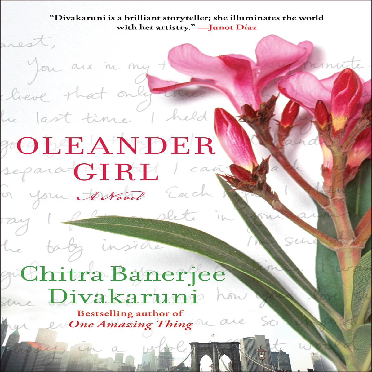 Printable Oleander Girl: A Novel Audiobook Cover Art