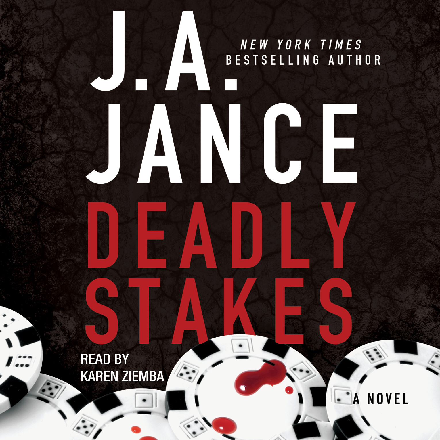 Printable Deadly Stakes Audiobook Cover Art