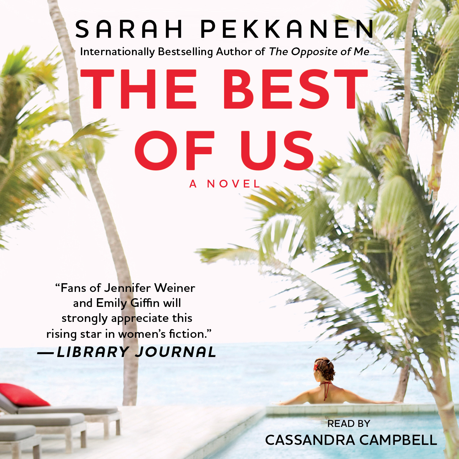 Printable The Best of Us: A Novel Audiobook Cover Art