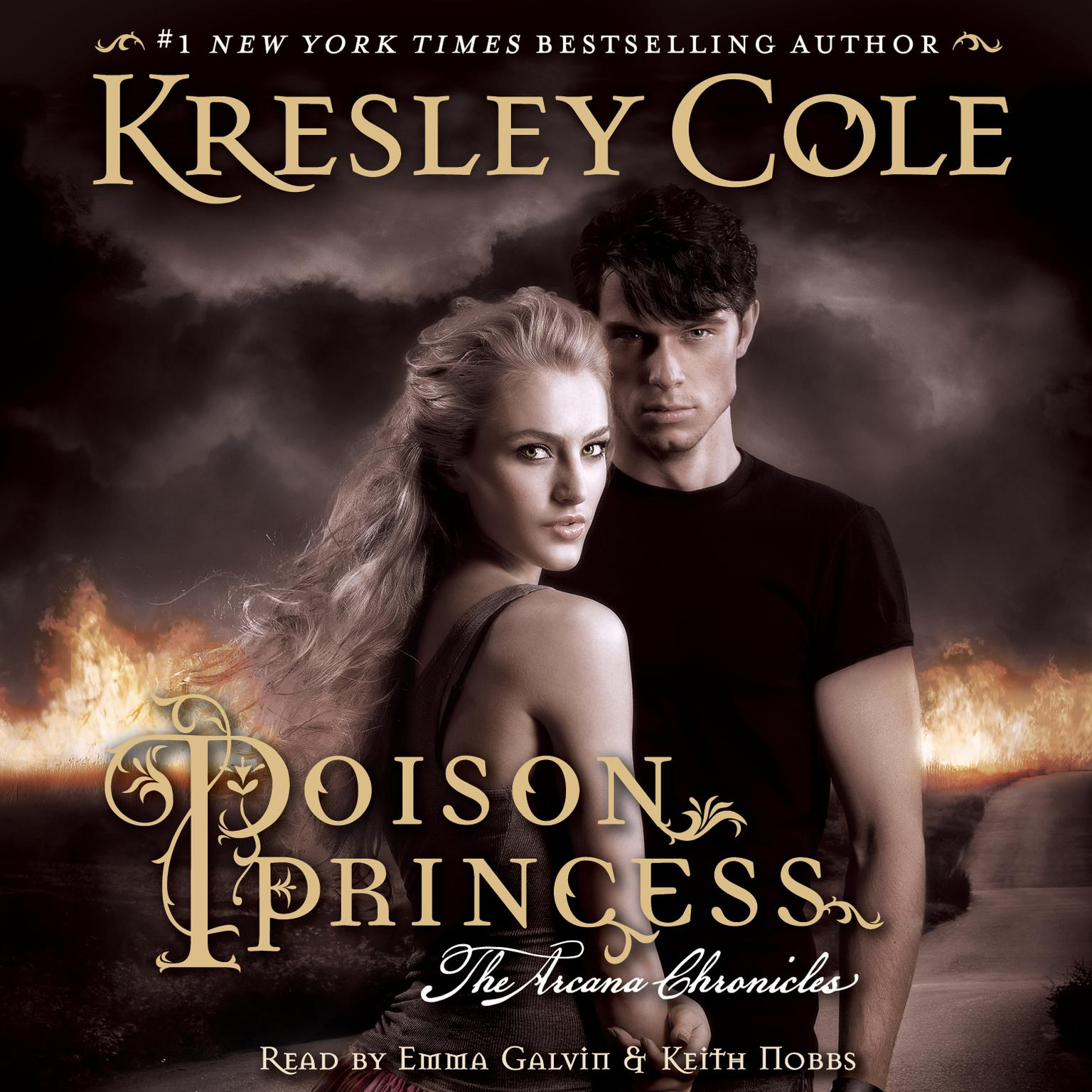 Printable Poison Princess Audiobook Cover Art