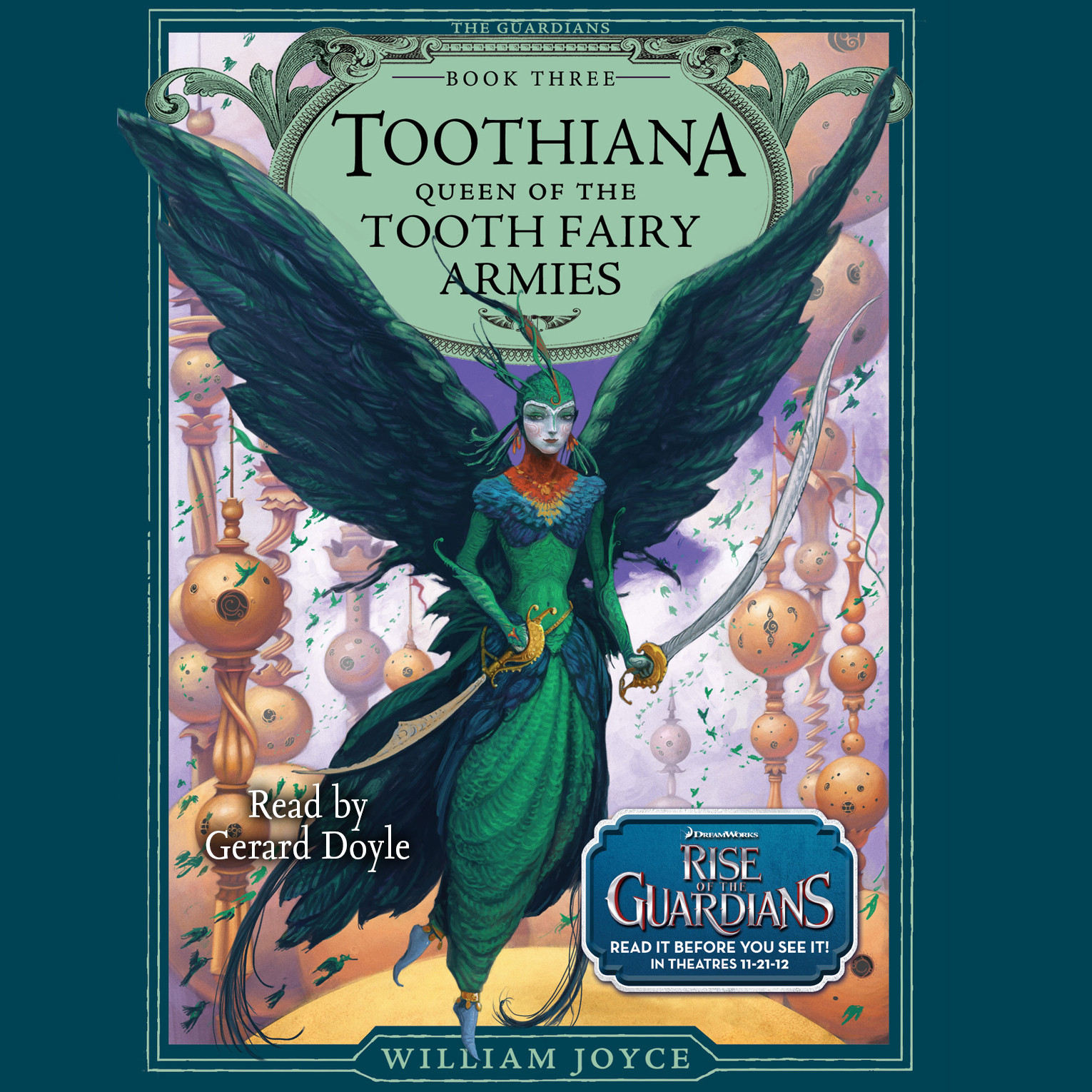 Printable Toothiana, Queen of the Tooth Fairy Armies: Queen of the Tooth Fairy Armies Audiobook Cover Art