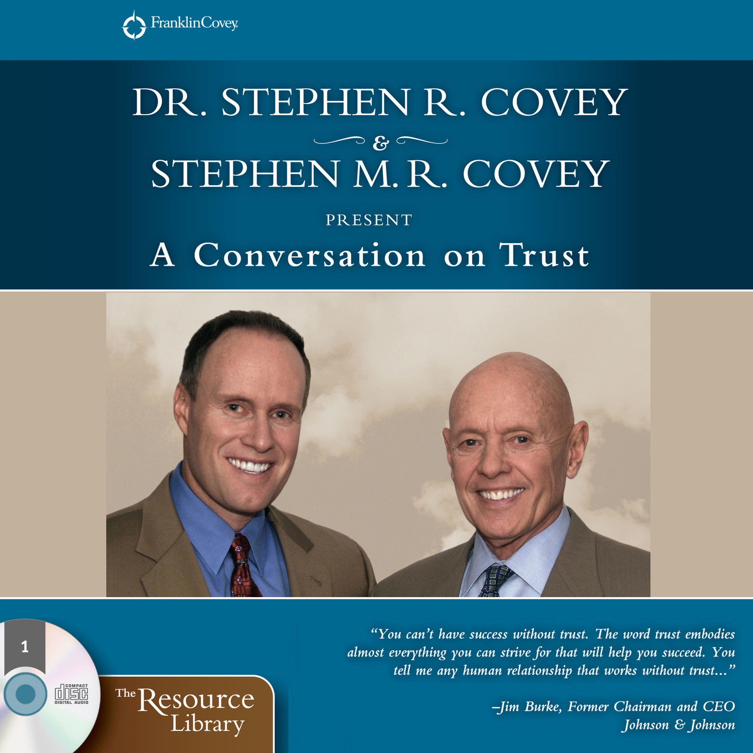 Printable A Conversation on Trust: The One Thing That Impacts Every Dimension of Life Audiobook Cover Art