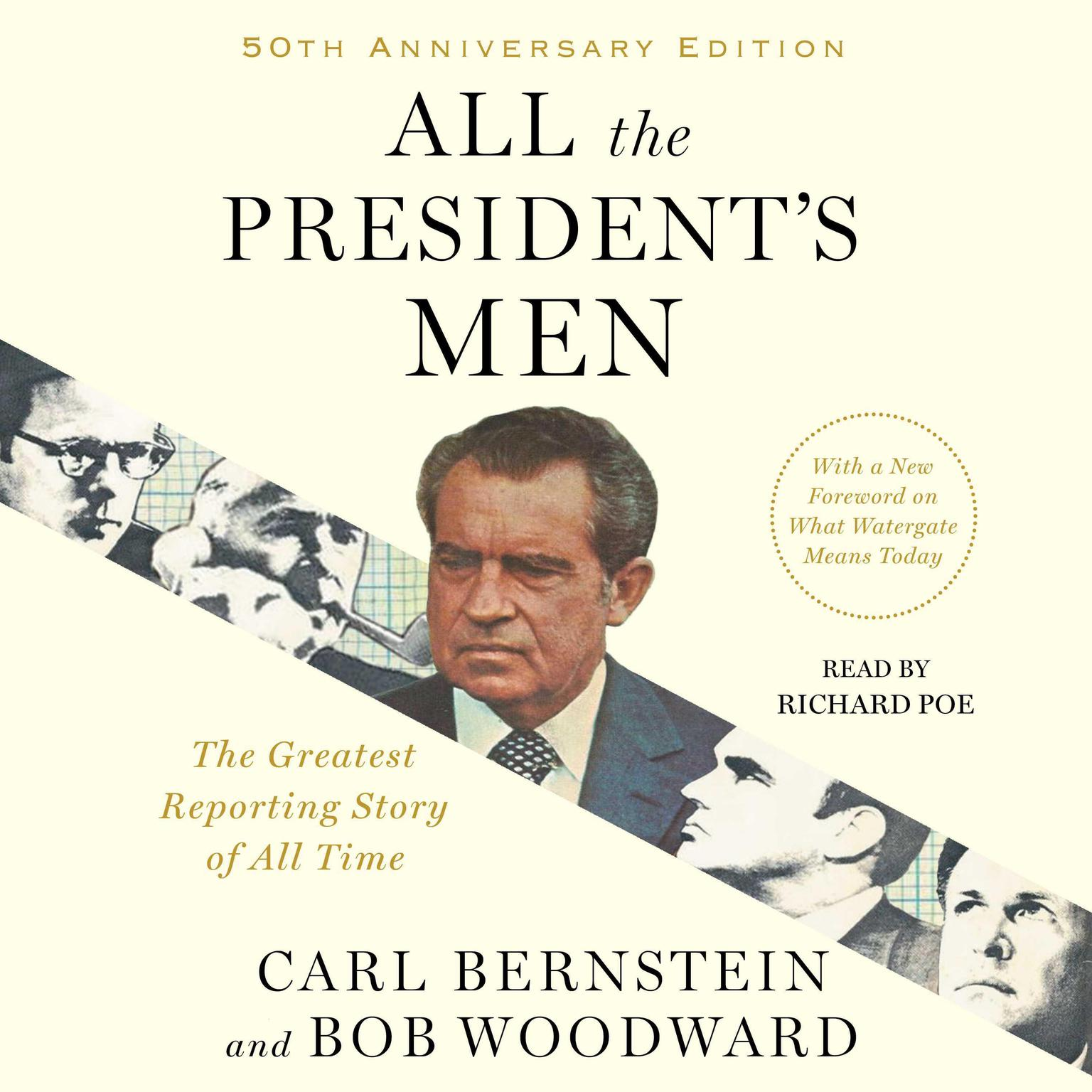 Printable All the President's Men Audiobook Cover Art