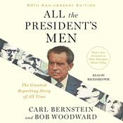 All the Presidents Men Audiobook, by Bob Woodward