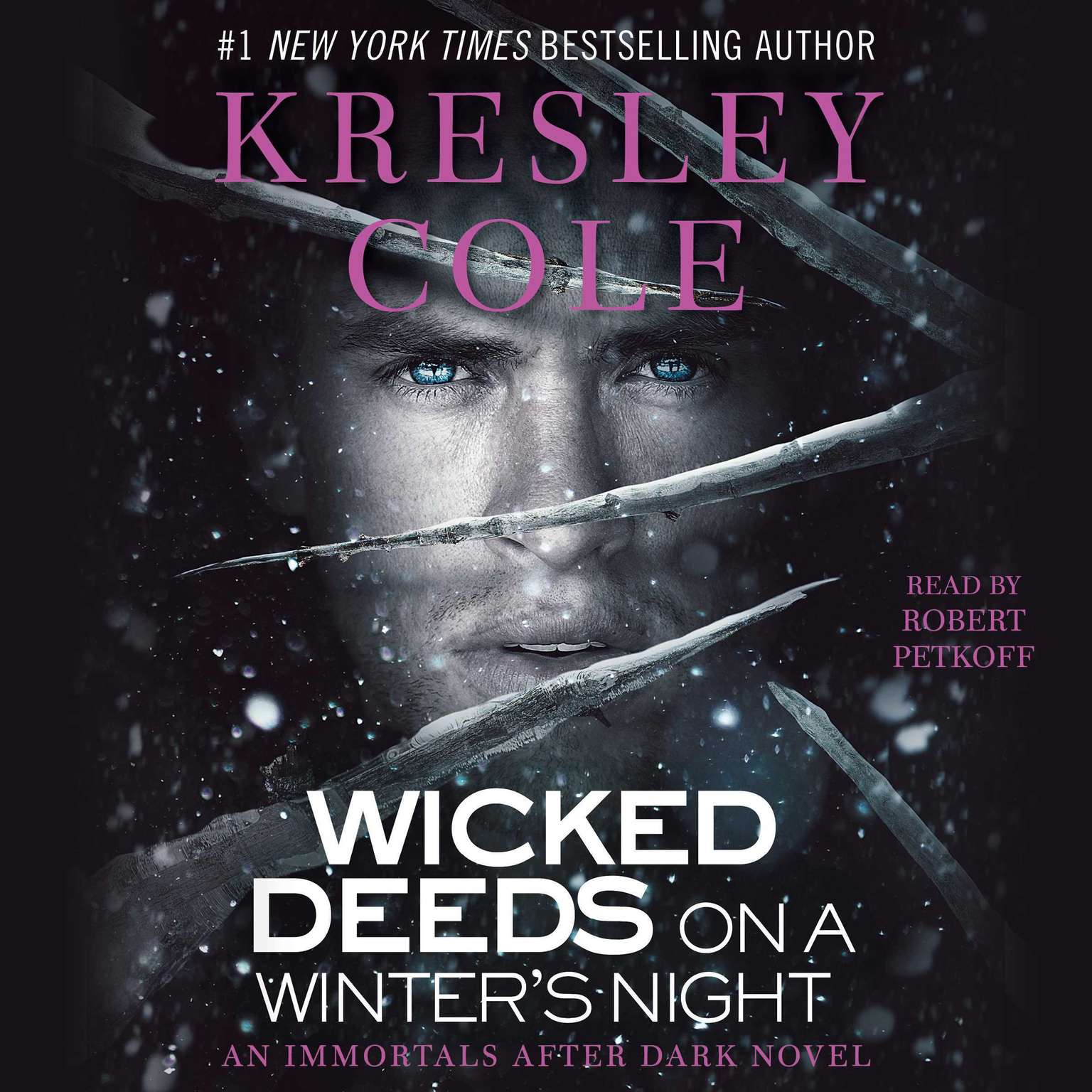 Printable Wicked Deeds on a Winter's Night Audiobook Cover Art