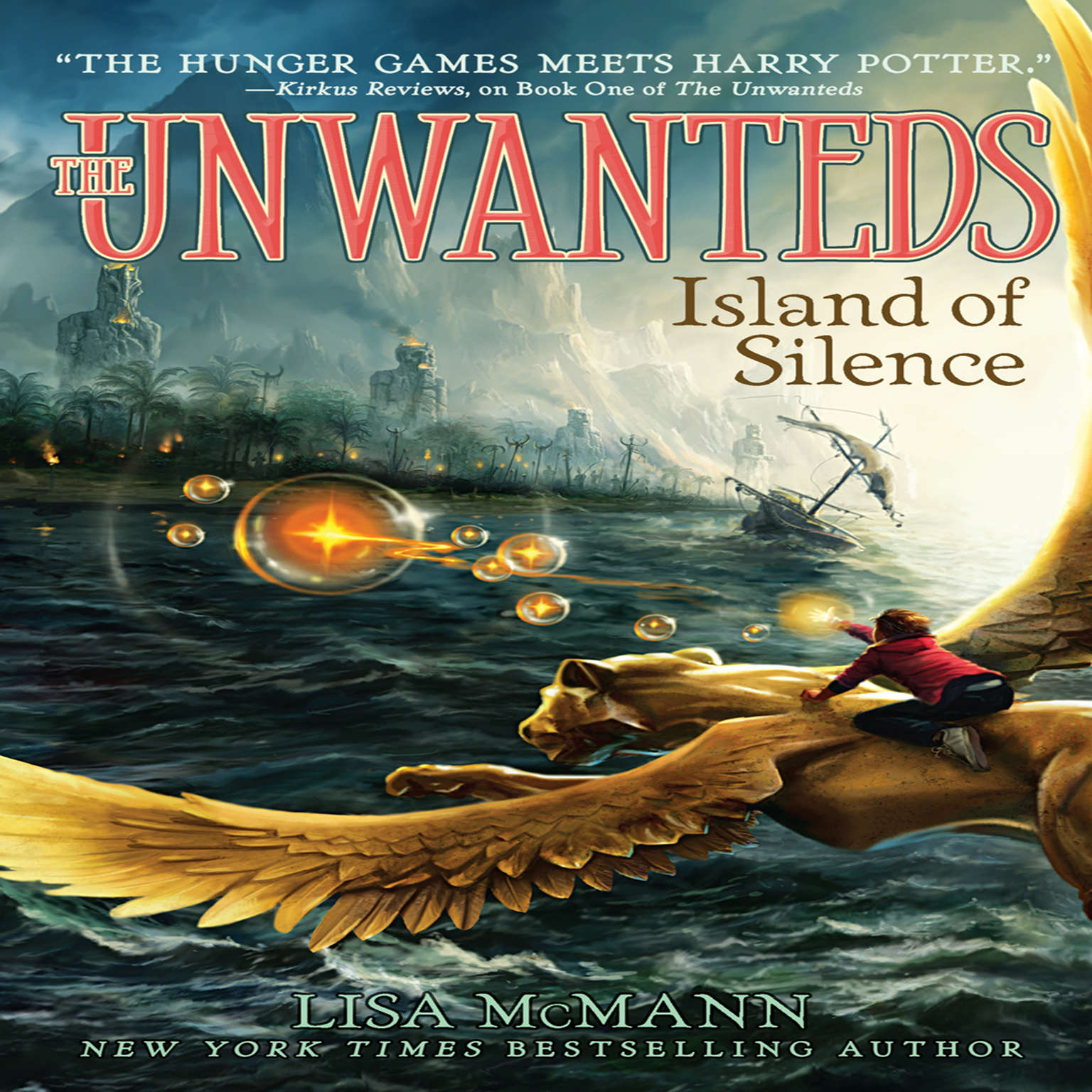 Printable Island of Silence Audiobook Cover Art