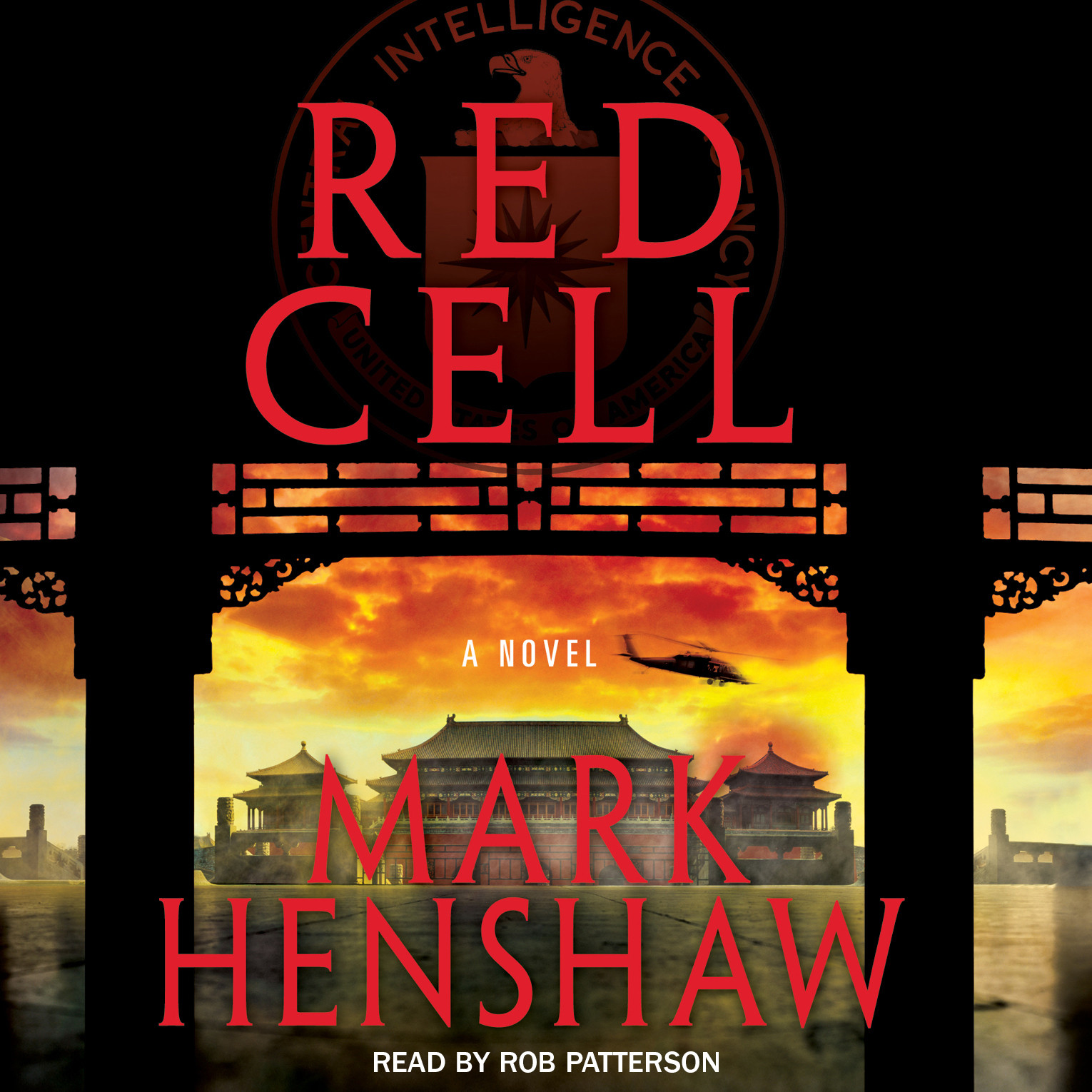 Printable Red Cell: A Novel Audiobook Cover Art