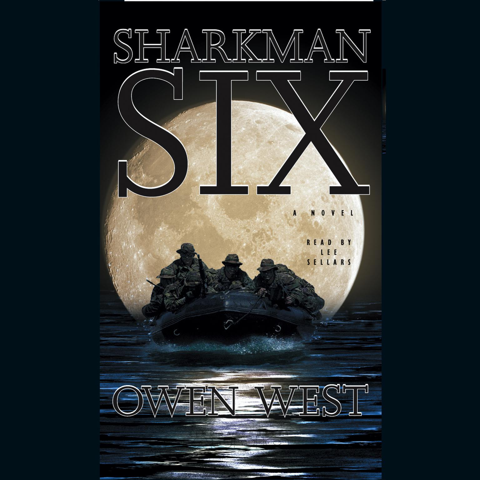 Printable Sharkman Six Audiobook Cover Art