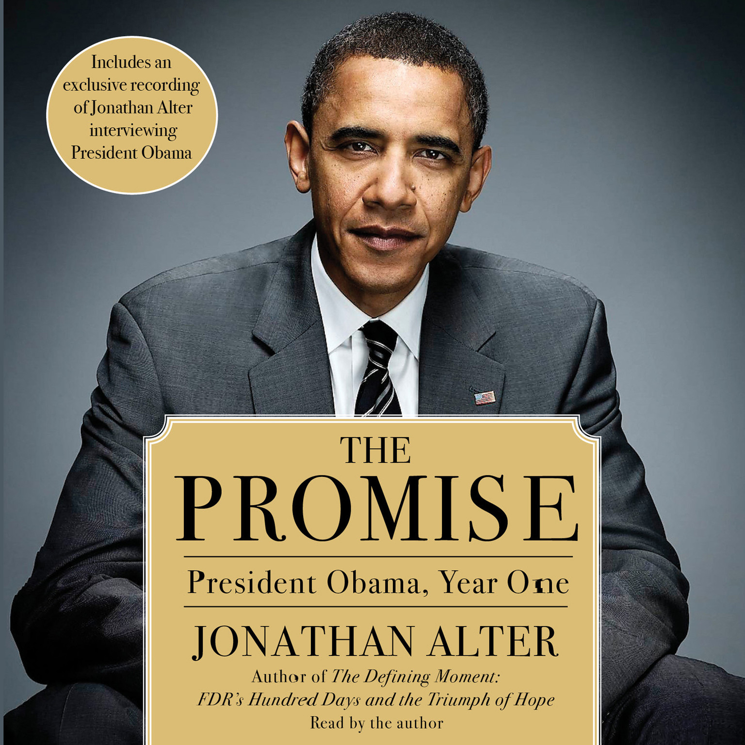 Printable The Promise: President Obama, Year One Audiobook Cover Art