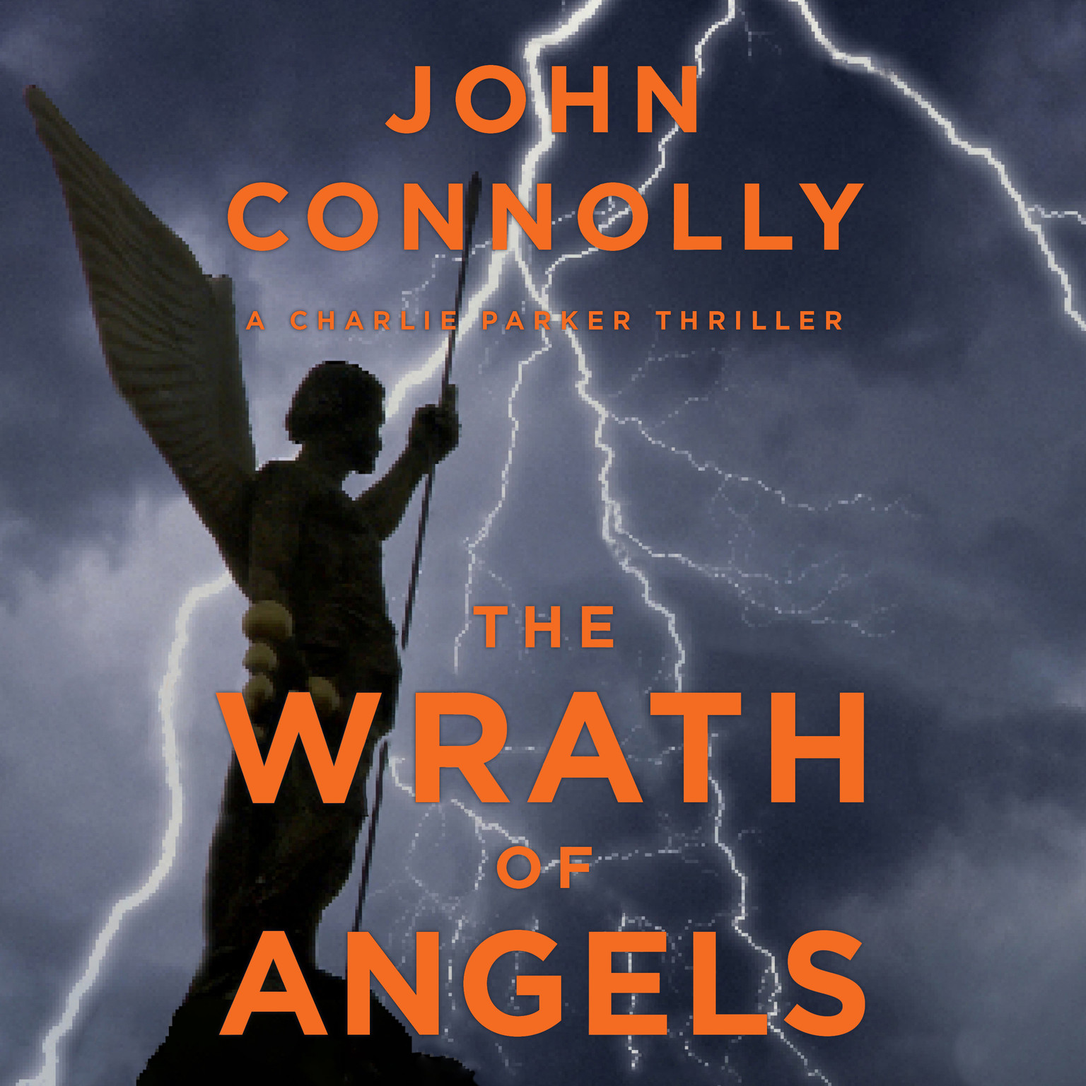Printable The Wrath of Angels: A Charlie Parker Thriller Audiobook Cover Art
