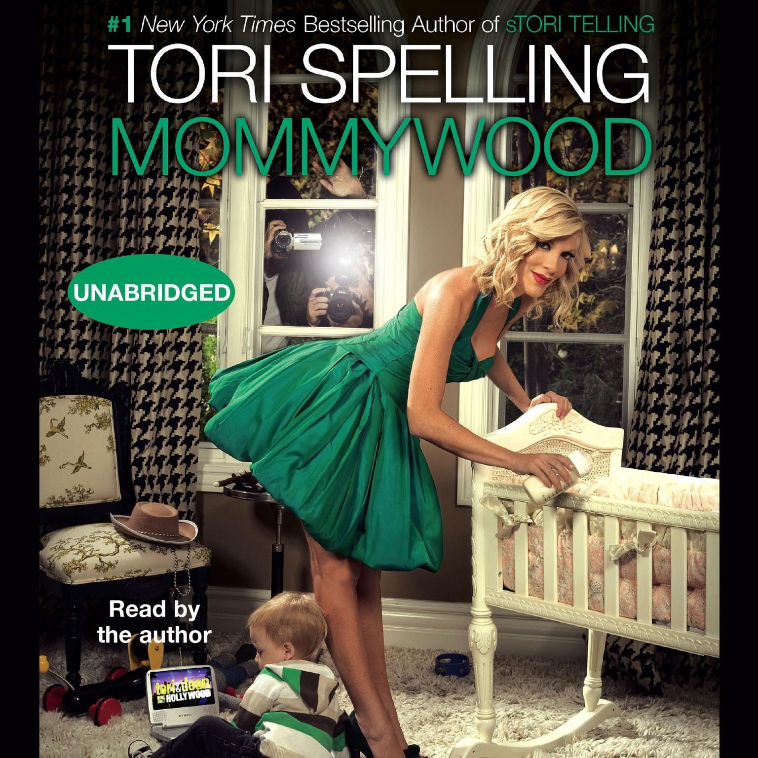 Printable Mommywood Audiobook Cover Art