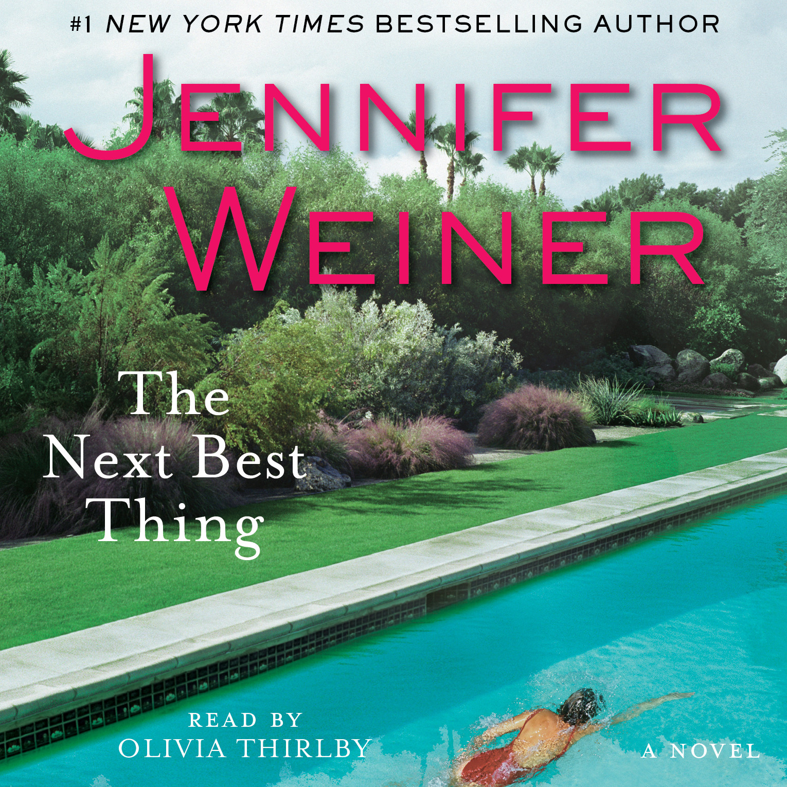 Printable The Next Best Thing: A Novel Audiobook Cover Art