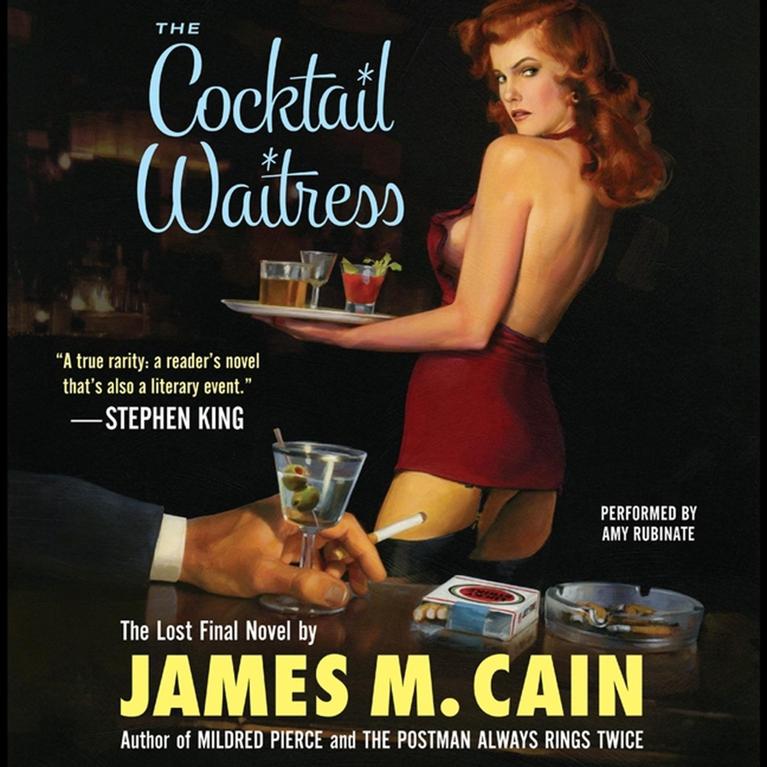 Printable The Cocktail Waitress Audiobook Cover Art
