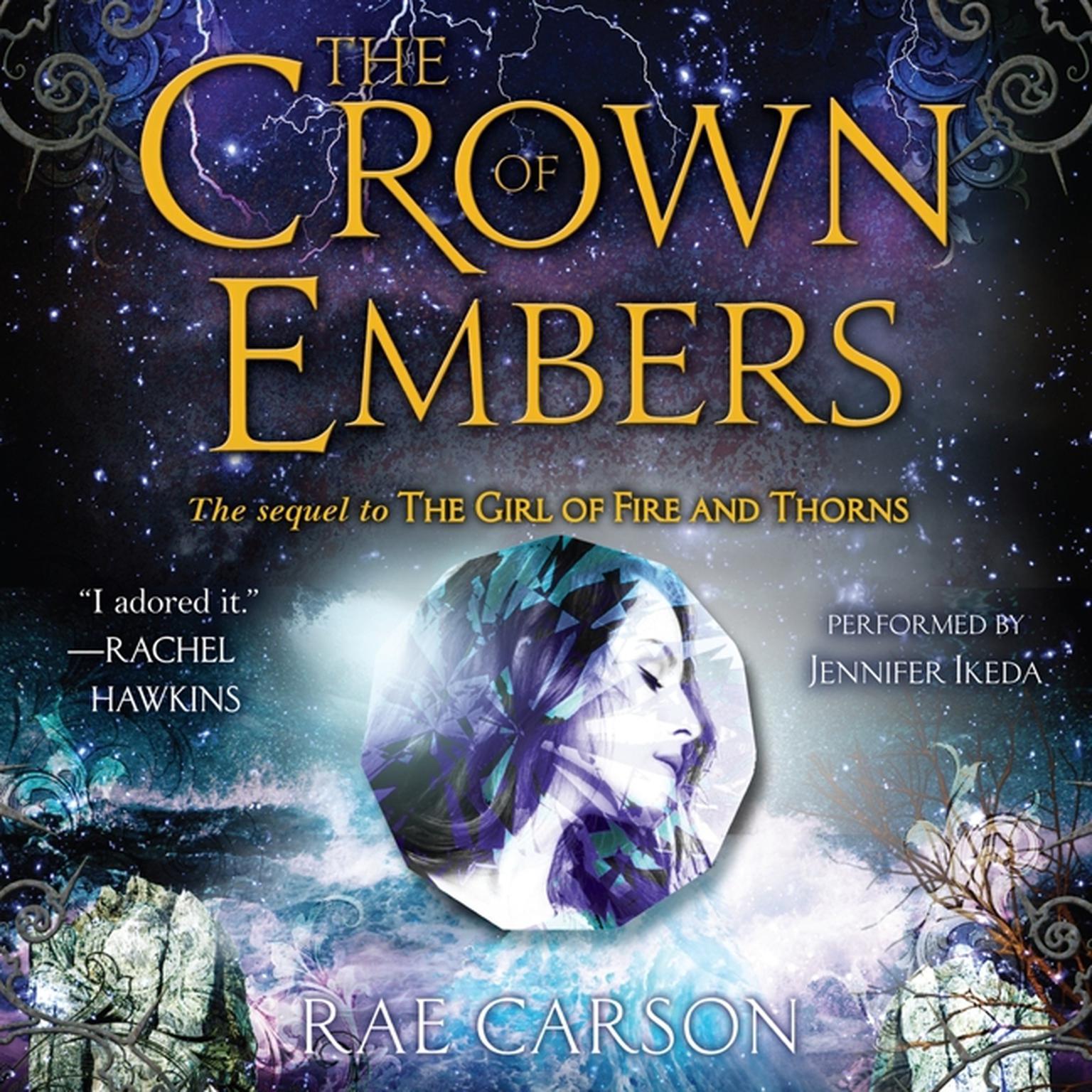 Printable The Crown of Embers Audiobook Cover Art