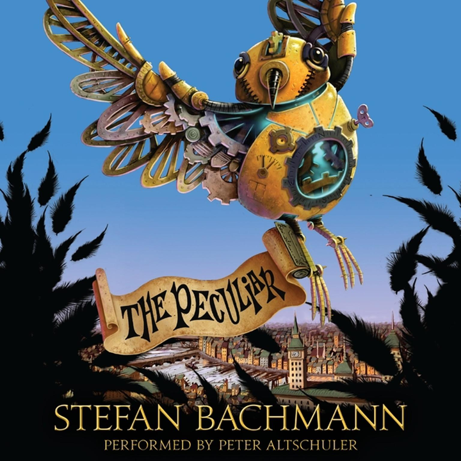 Printable The Peculiar Audiobook Cover Art