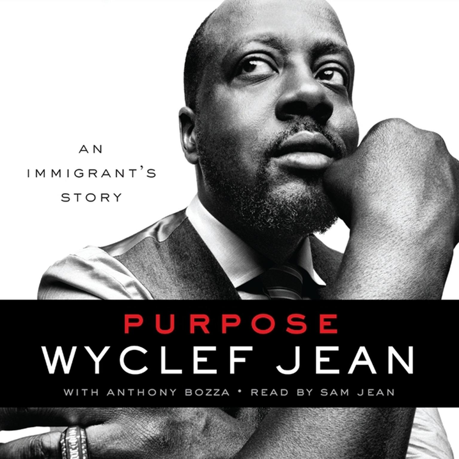 Printable Purpose: An Immigrant's Story Audiobook Cover Art