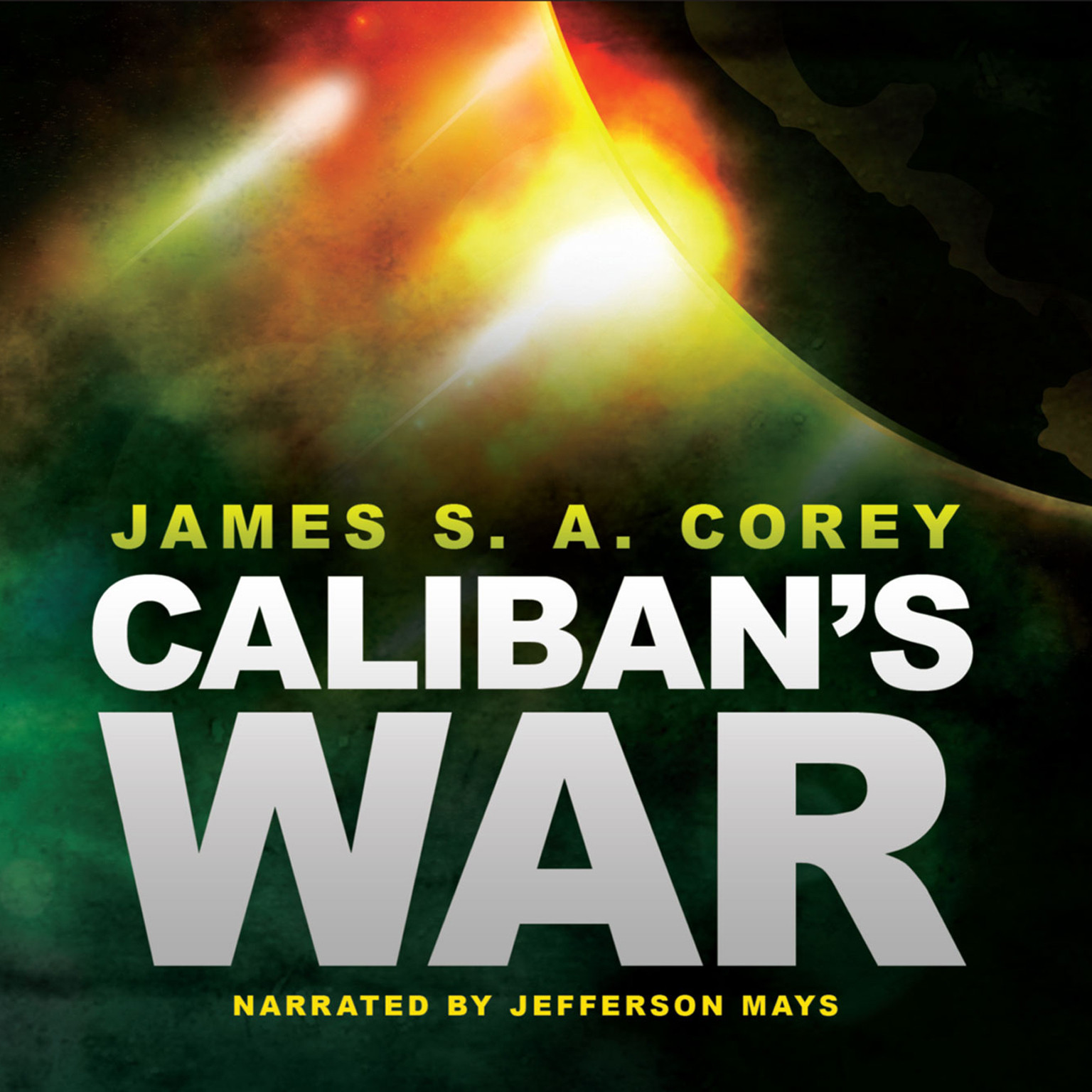 Printable Caliban's War Audiobook Cover Art