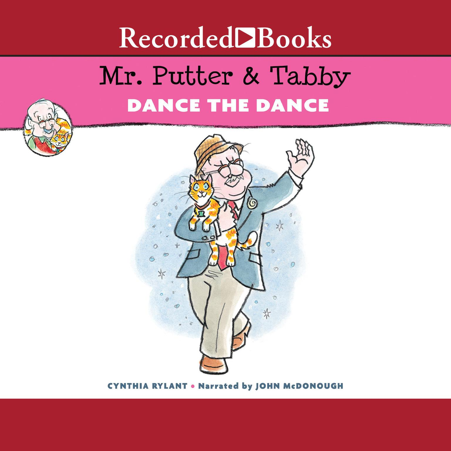 Printable Mr. Putter & Tabby Dance the Dance Audiobook Cover Art