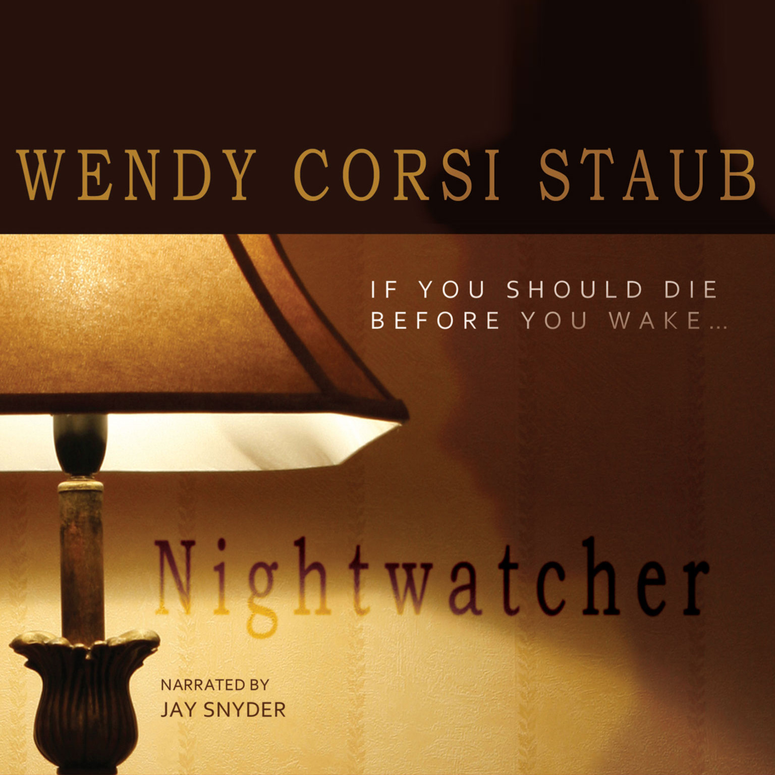 Printable Nightwatcher Audiobook Cover Art