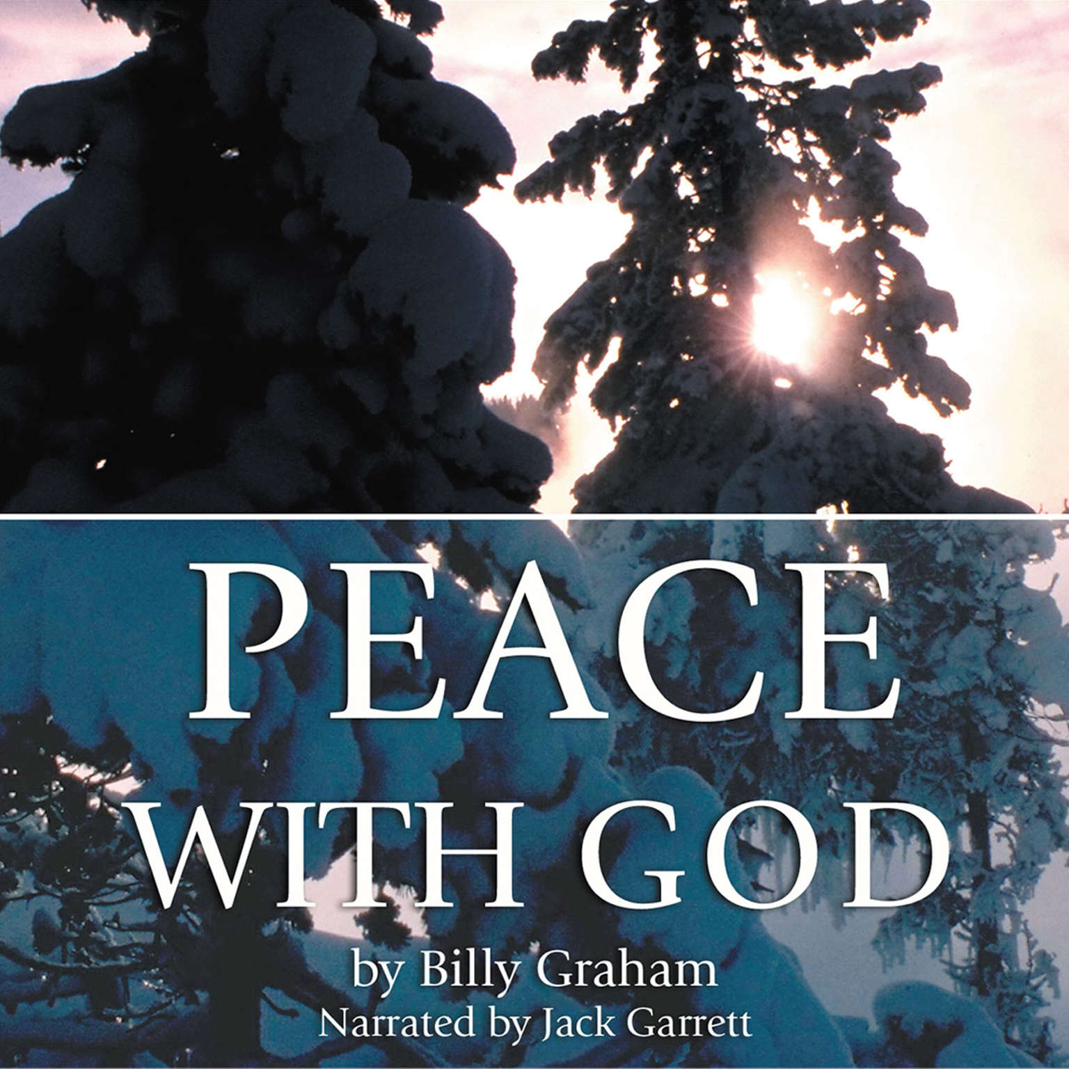 Printable Peace with God Audiobook Cover Art