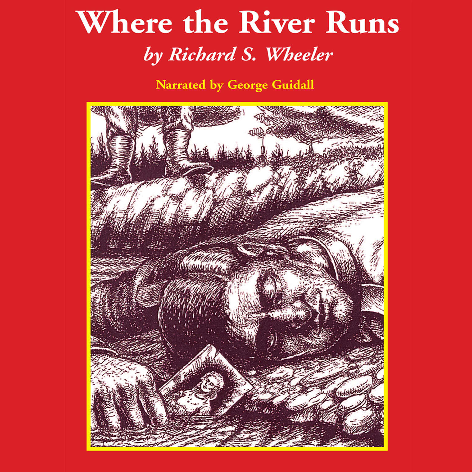 Printable Where the River Runs Audiobook Cover Art