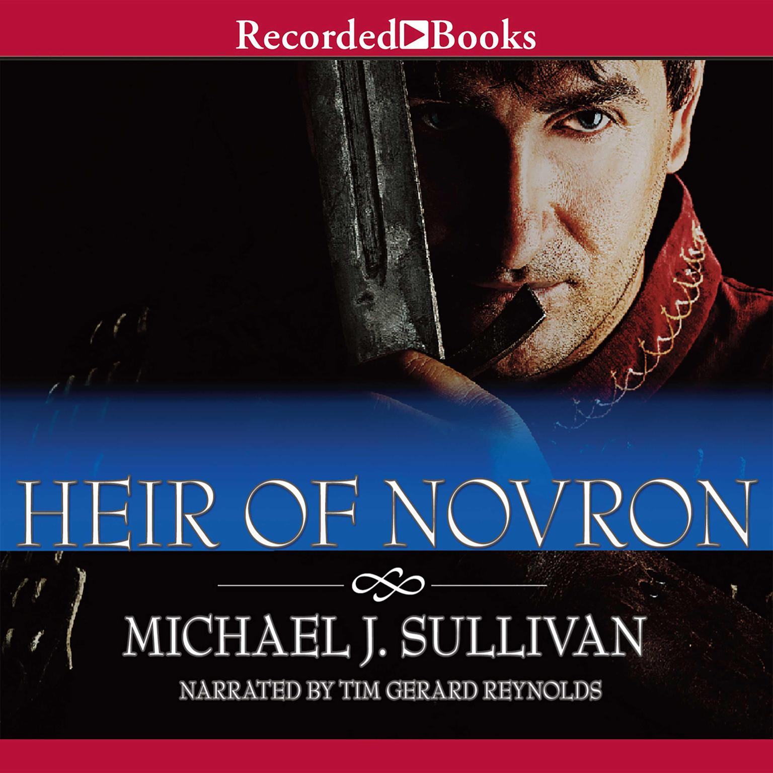 Printable Heir of Novron Audiobook Cover Art