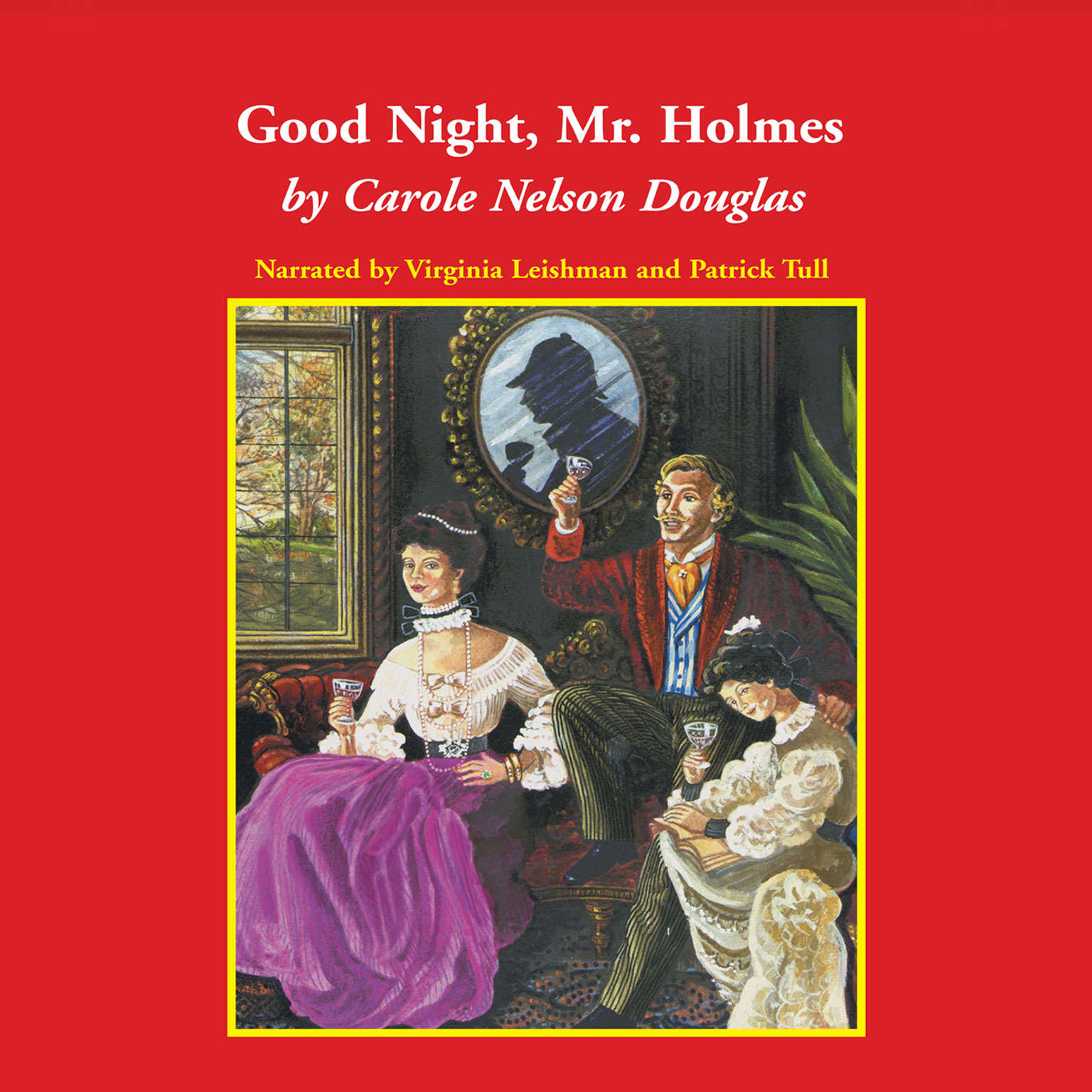 Printable Good Night, Mr. Holmes Audiobook Cover Art