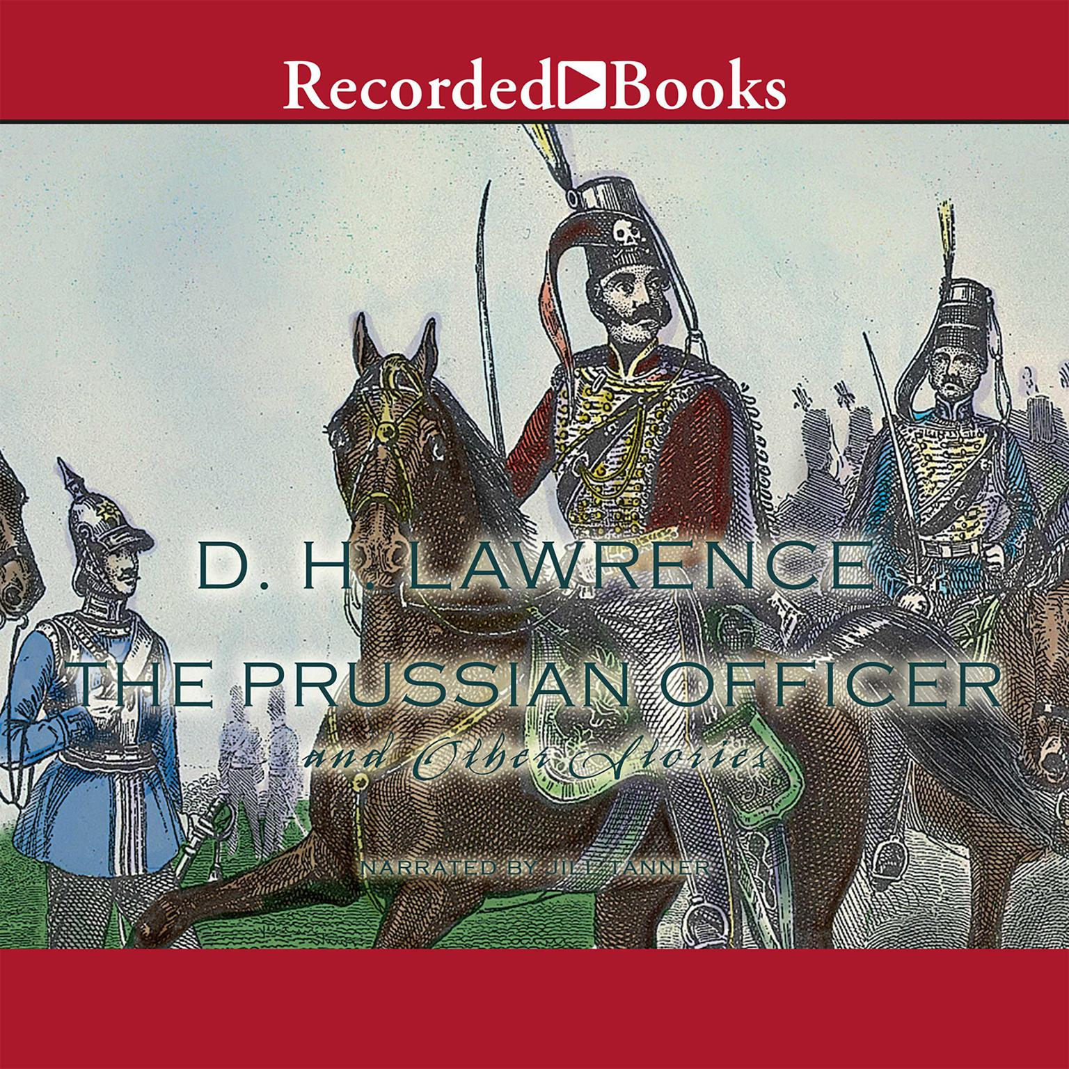 Printable The Prussian Officer Audiobook Cover Art