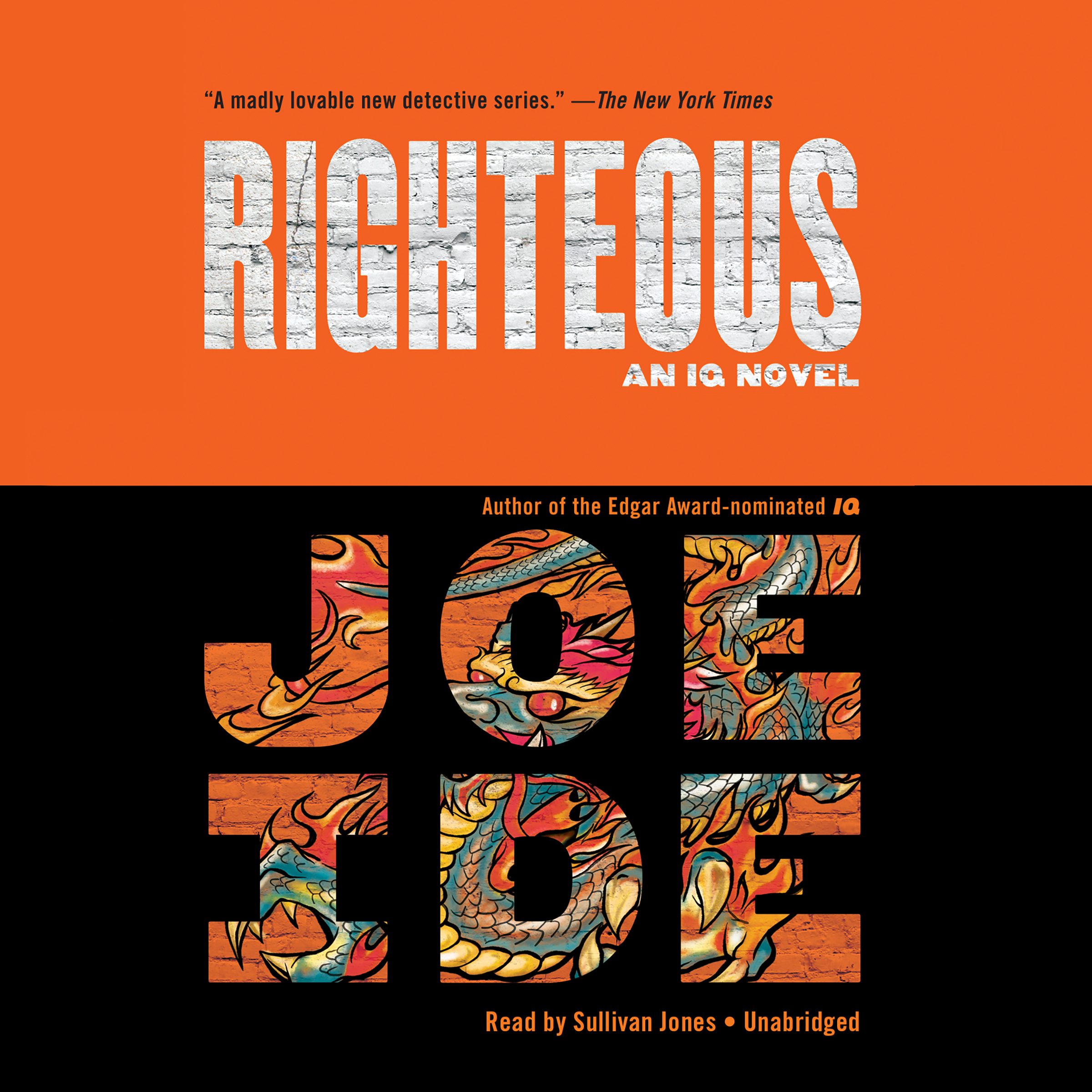 Printable Righteous Audiobook Cover Art