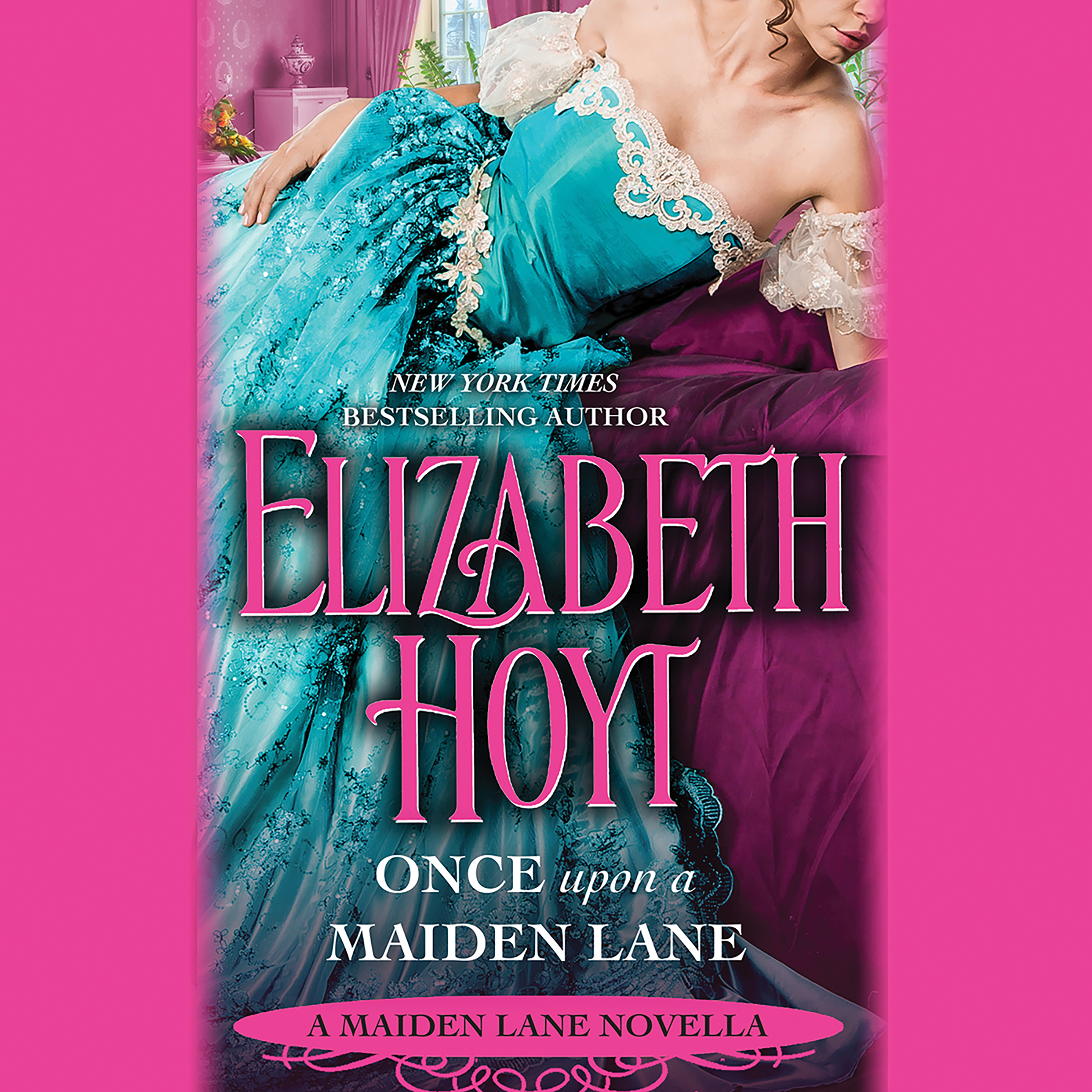 Printable Once Upon a Maiden Lane: A Maiden Lane Novella Audiobook Cover Art