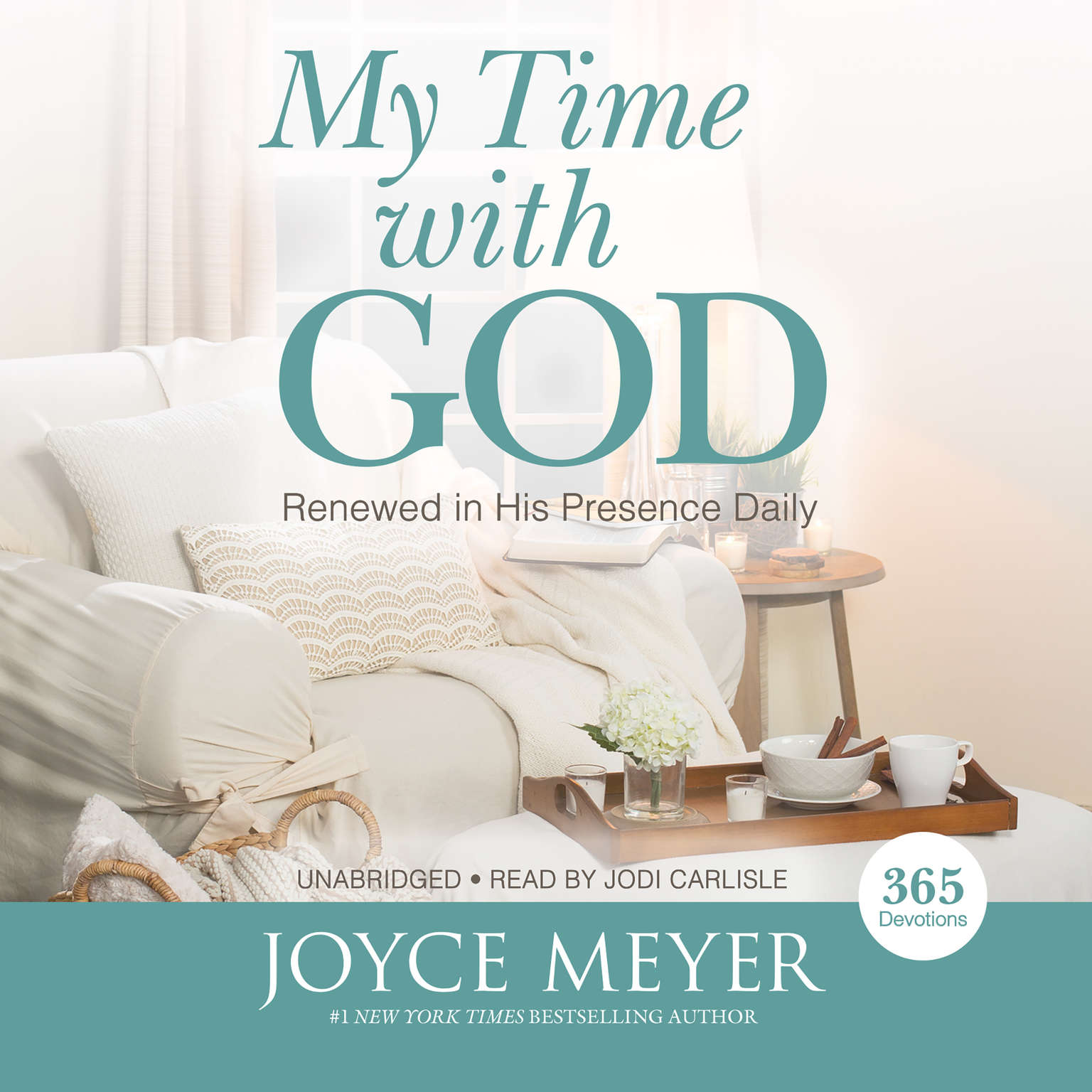 Printable My Time with God: Renewed in His Presence Daily Audiobook Cover Art