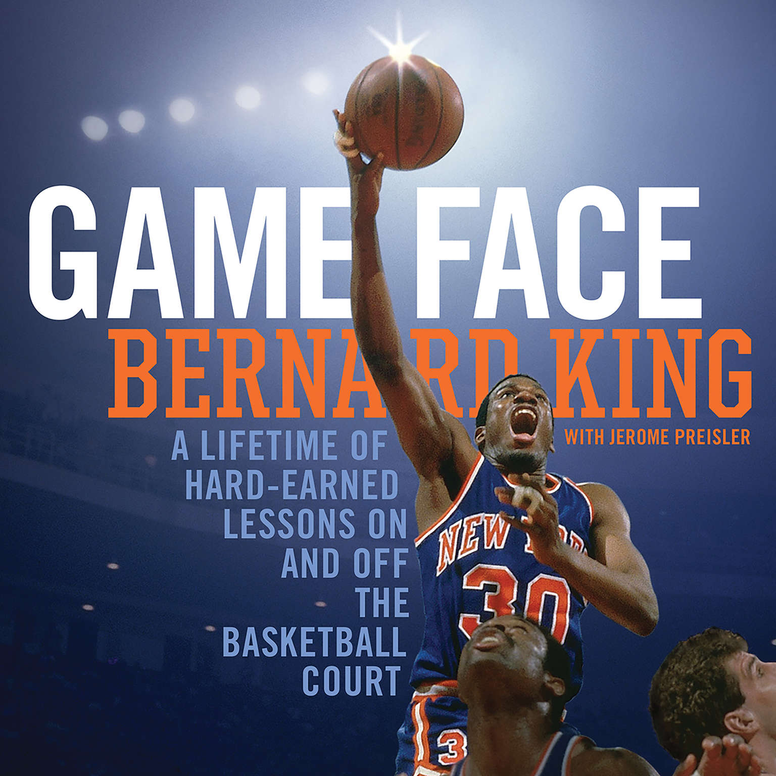 Printable Game Face: A Lifetime of Hard-Earned Lessons On and Off the Basketball Court Audiobook Cover Art