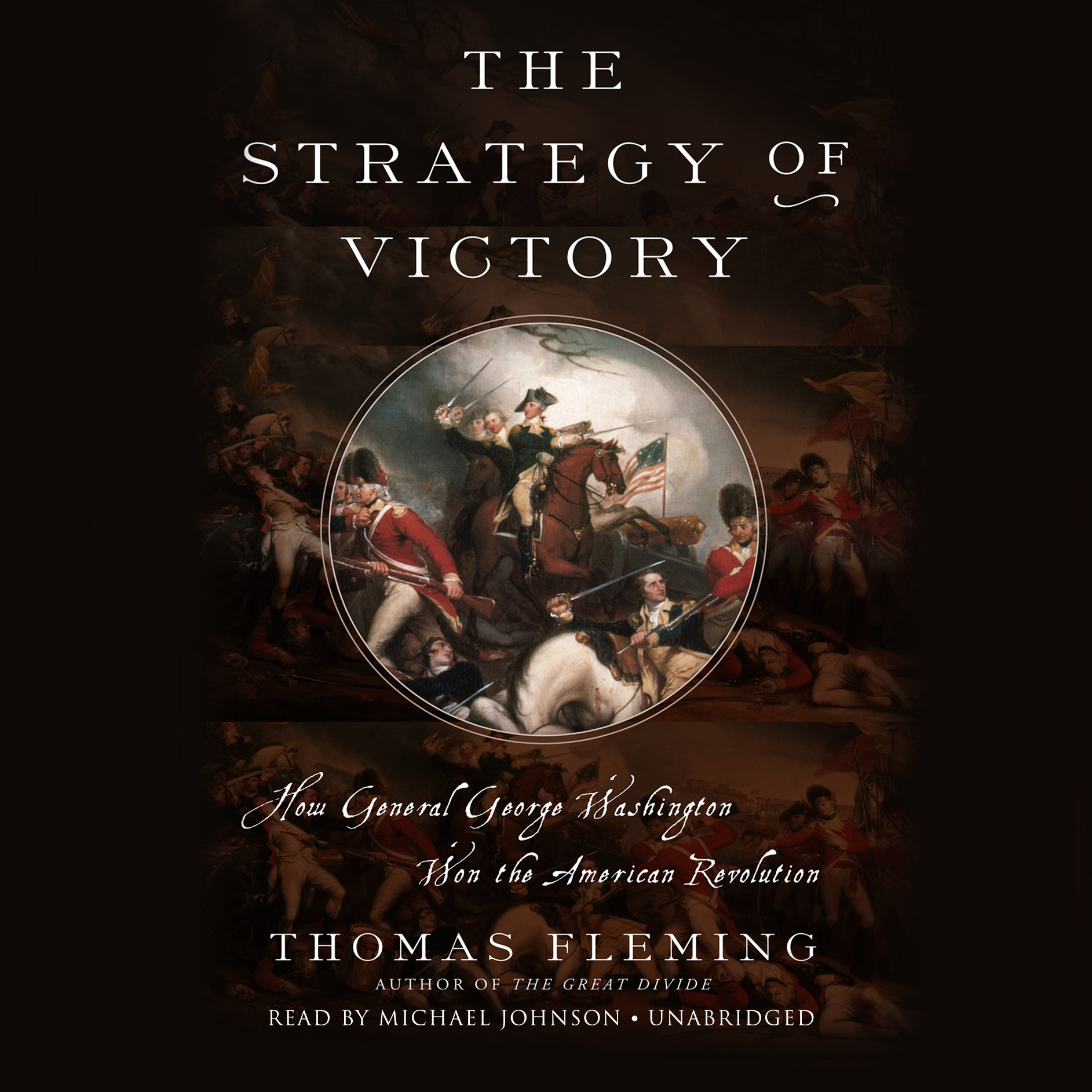 Printable The Strategy of Victory: How General George Washington Won the American Revolution Audiobook Cover Art