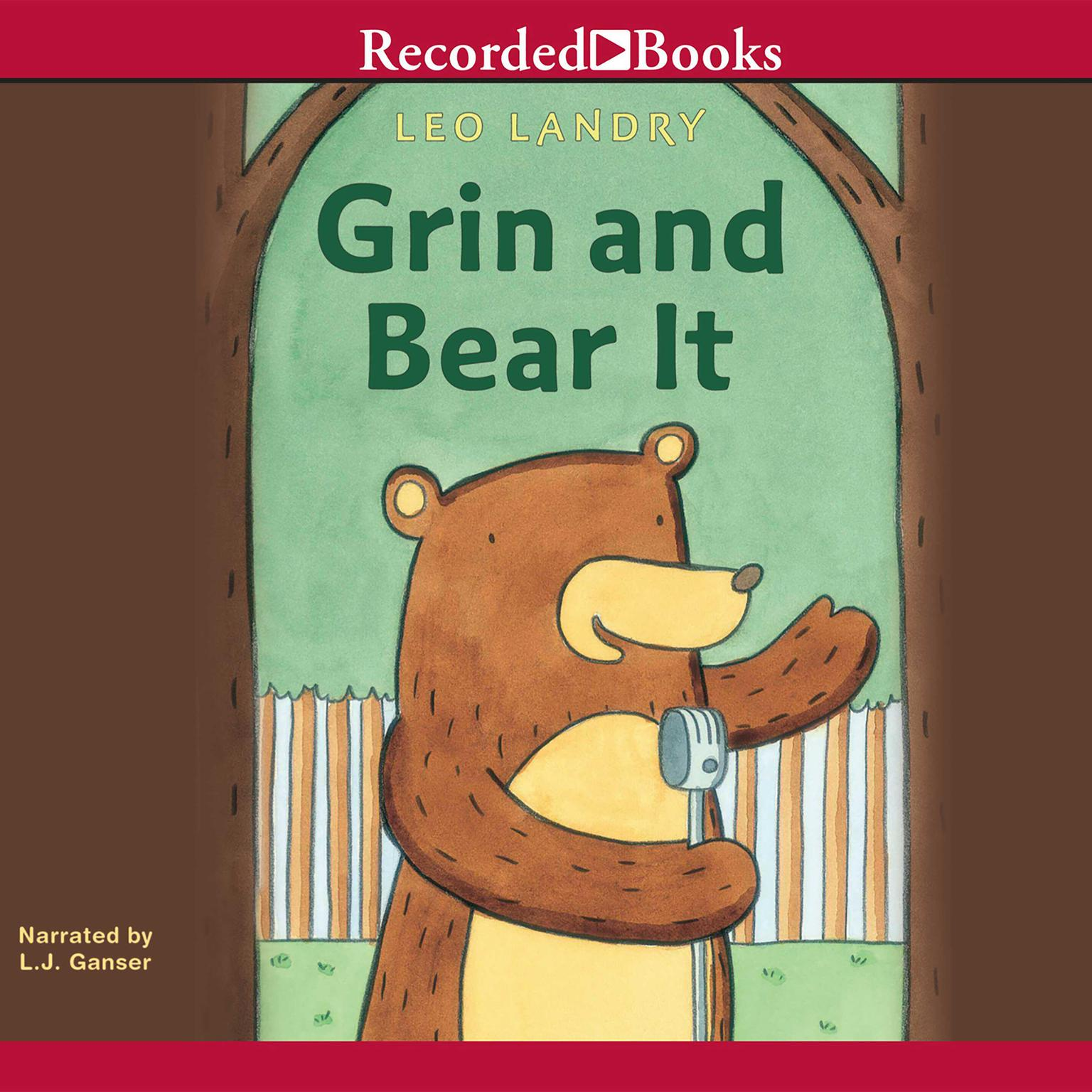 Printable Grin and Bear It Audiobook Cover Art