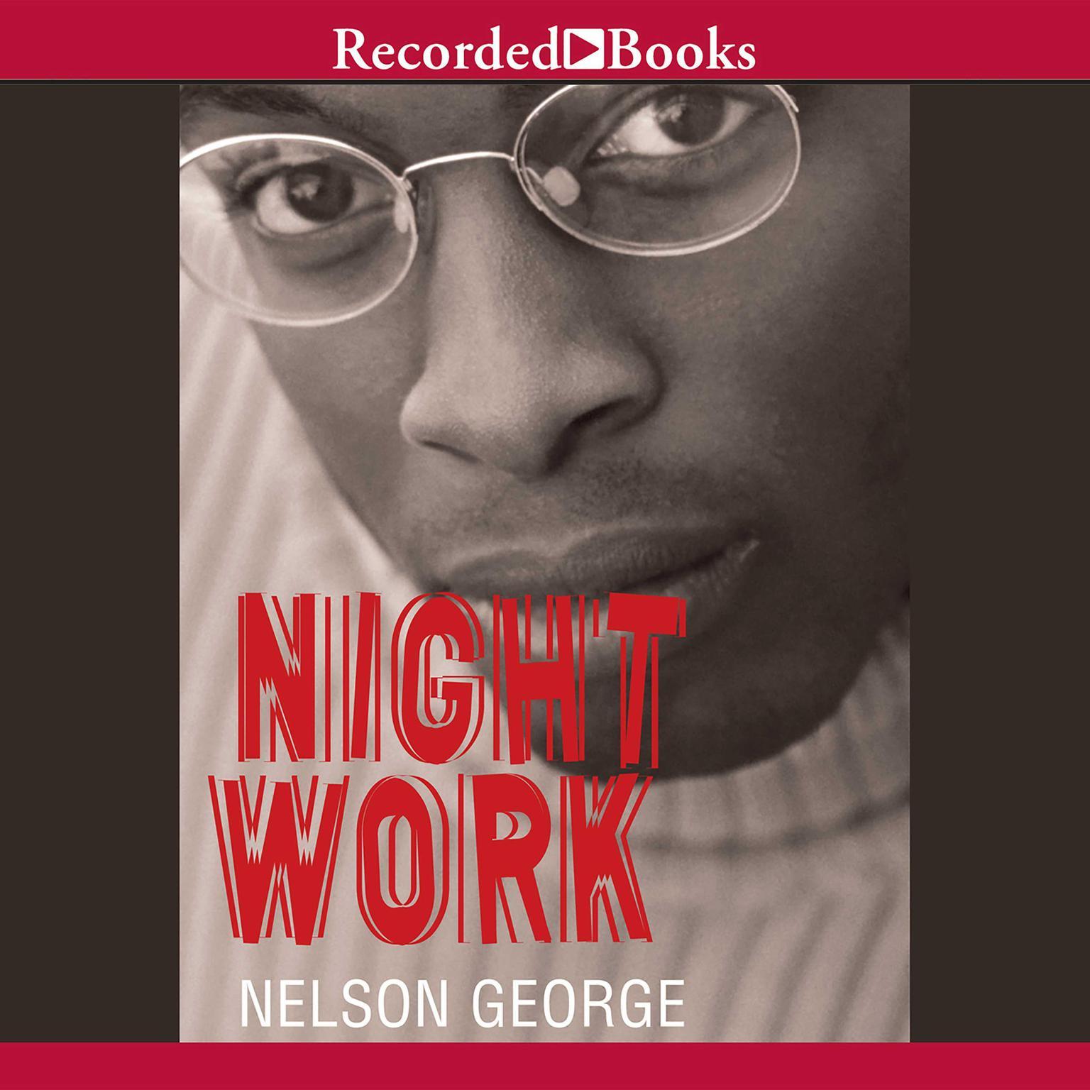 Printable Night Work Audiobook Cover Art