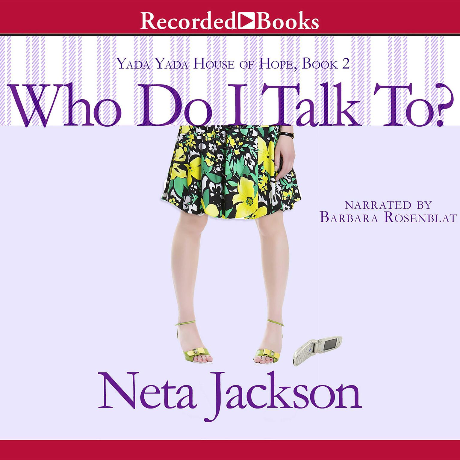 Printable Who Do I Talk To? Audiobook Cover Art