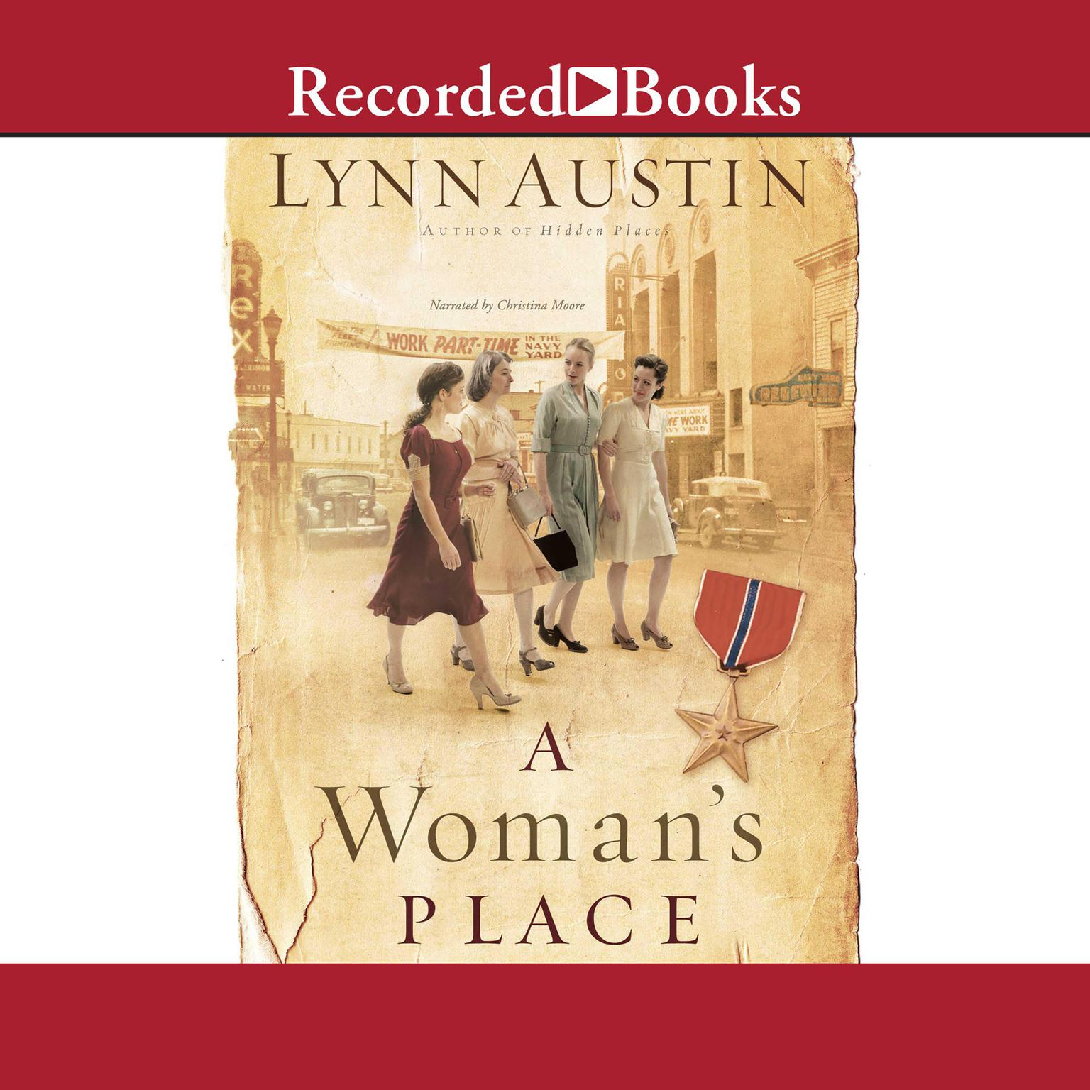 Printable A Woman's Place Audiobook Cover Art