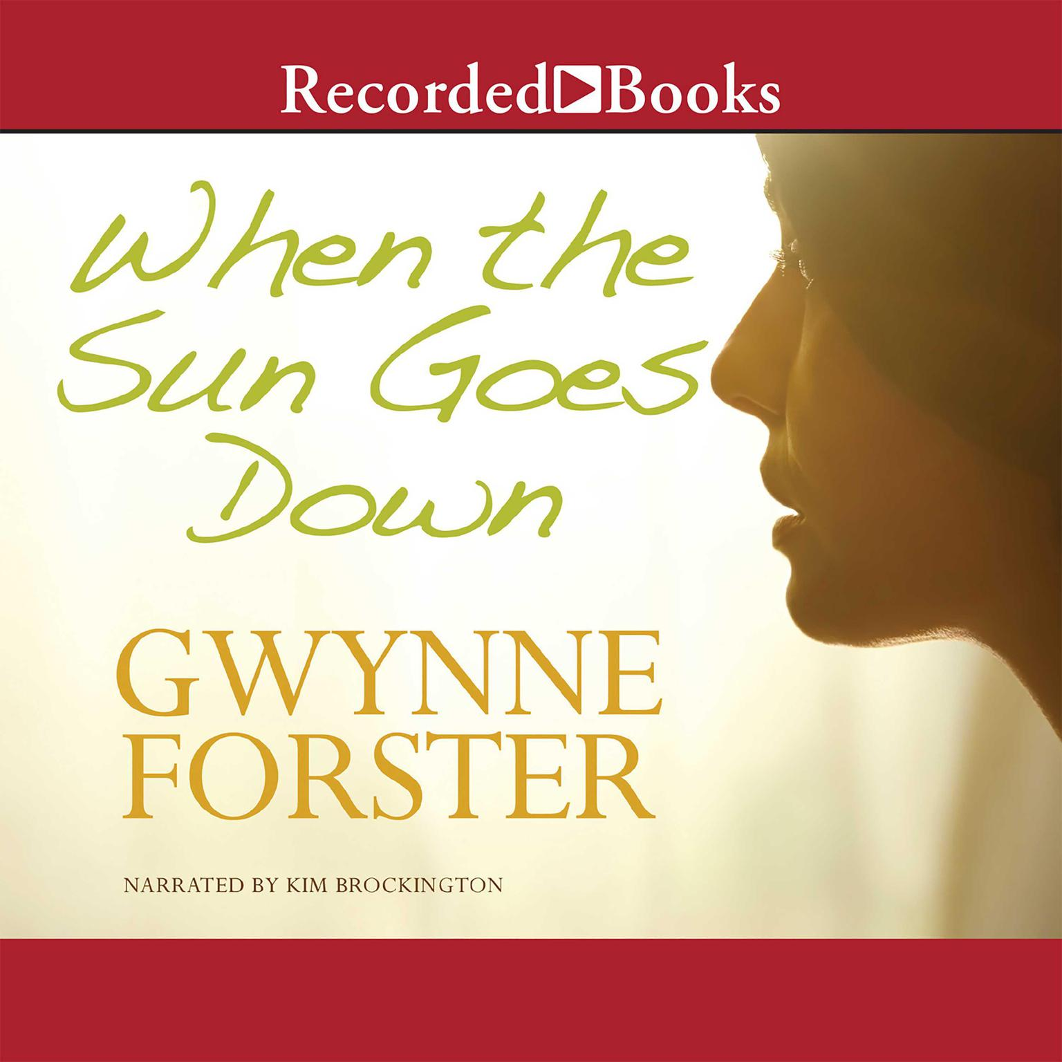 Printable When the Sun Goes Down Audiobook Cover Art