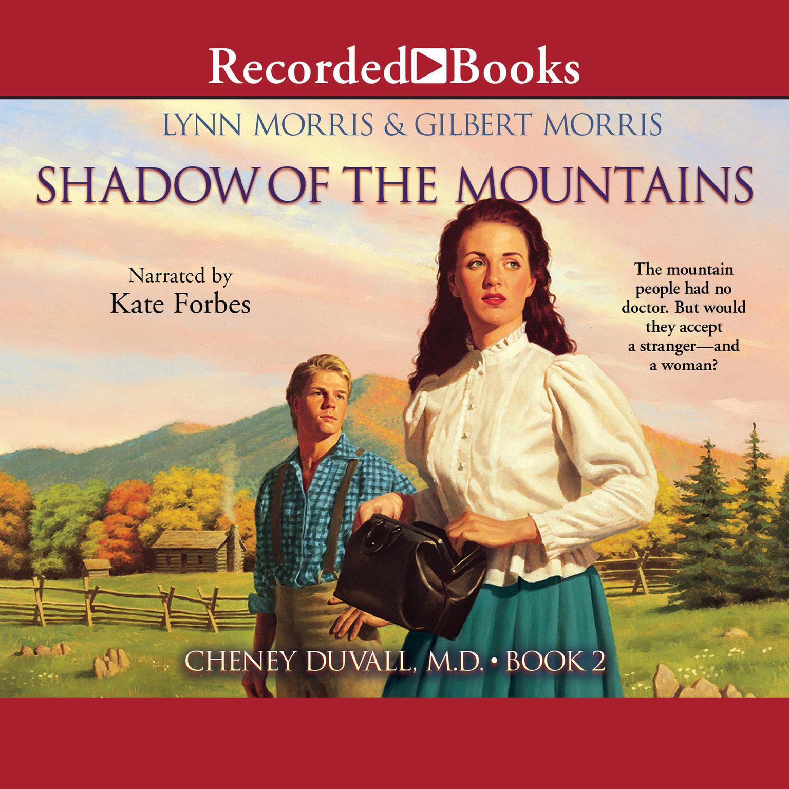 Printable Shadow of the Mountains Audiobook Cover Art