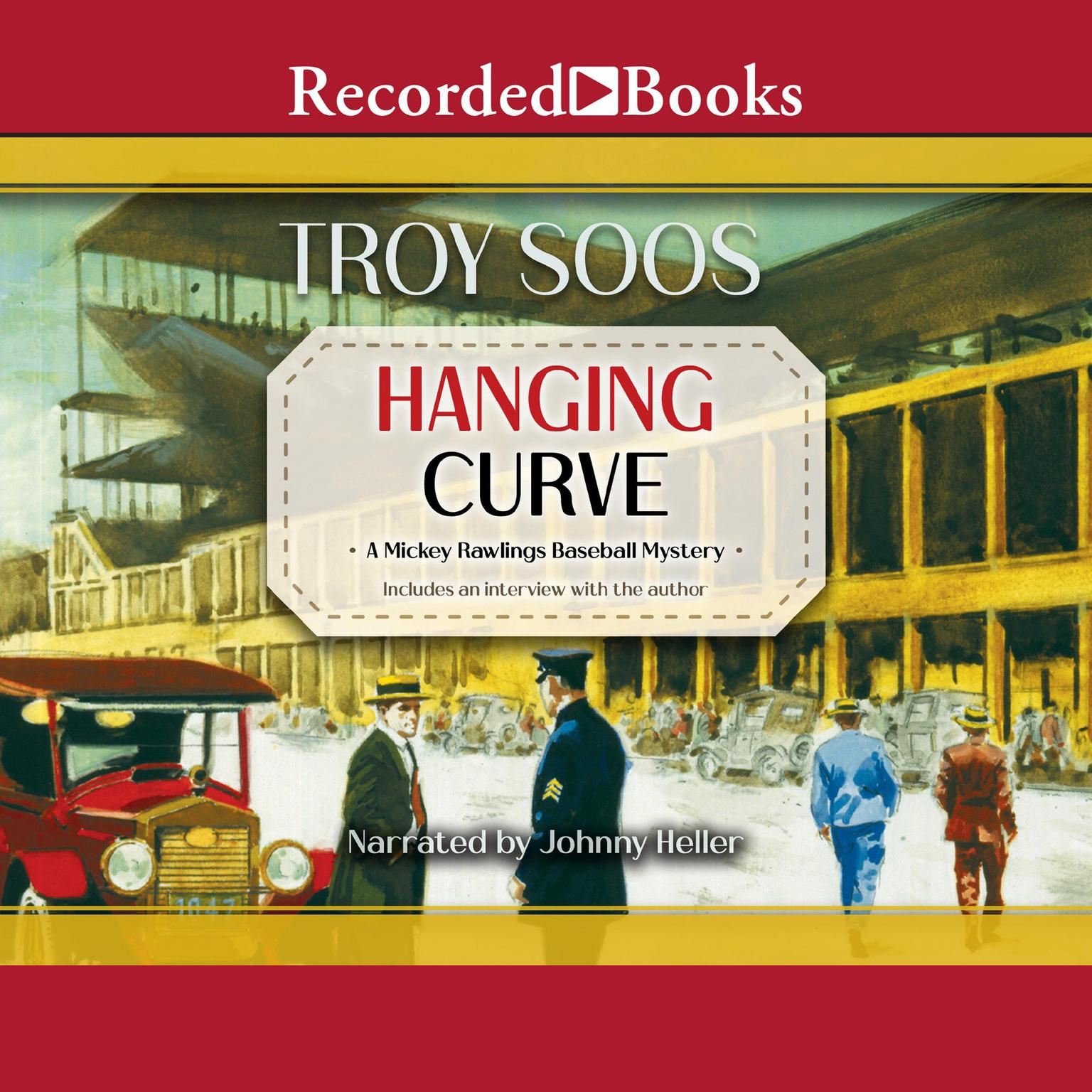 Printable Hanging Curve Audiobook Cover Art