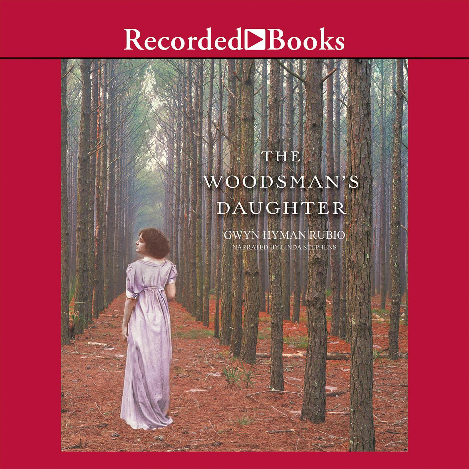 Printable The Woodsman's Daughter Audiobook Cover Art