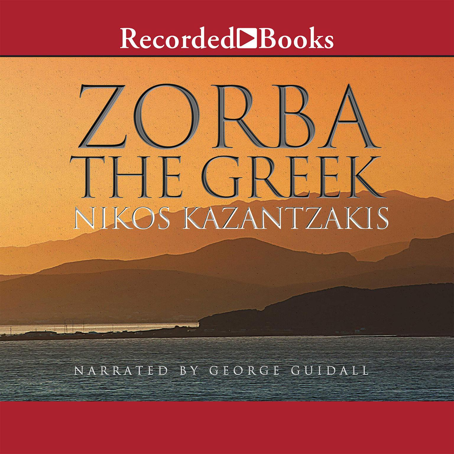 Printable Zorba the Greek Audiobook Cover Art