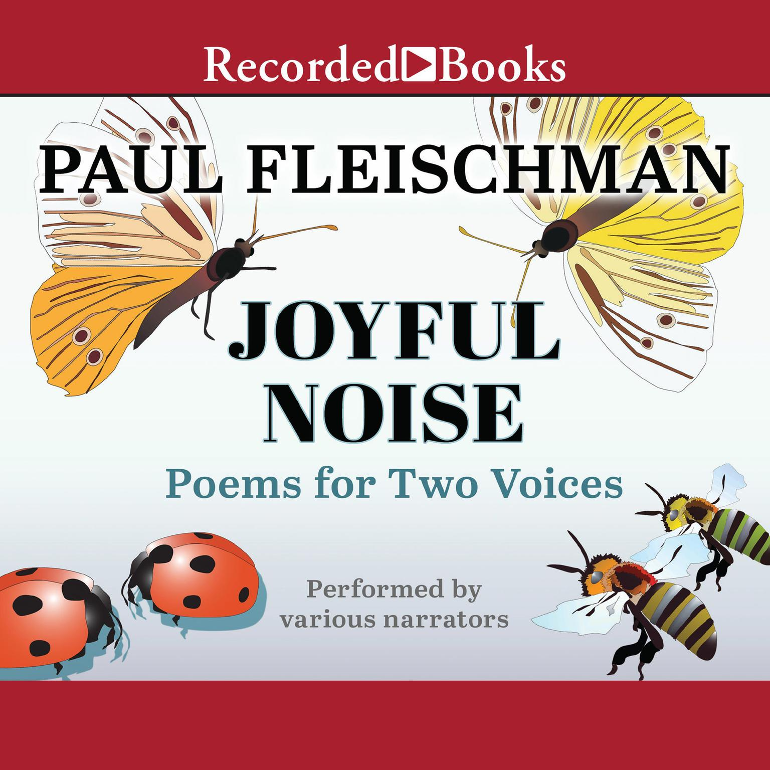 Printable Joyful Noise: Poems for Two Voices Audiobook Cover Art