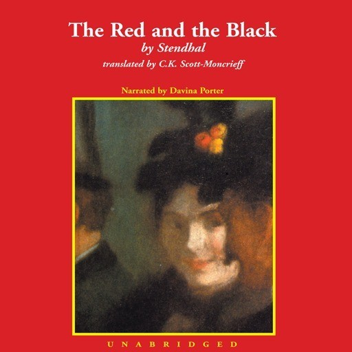 Printable The Red and the Black Audiobook Cover Art