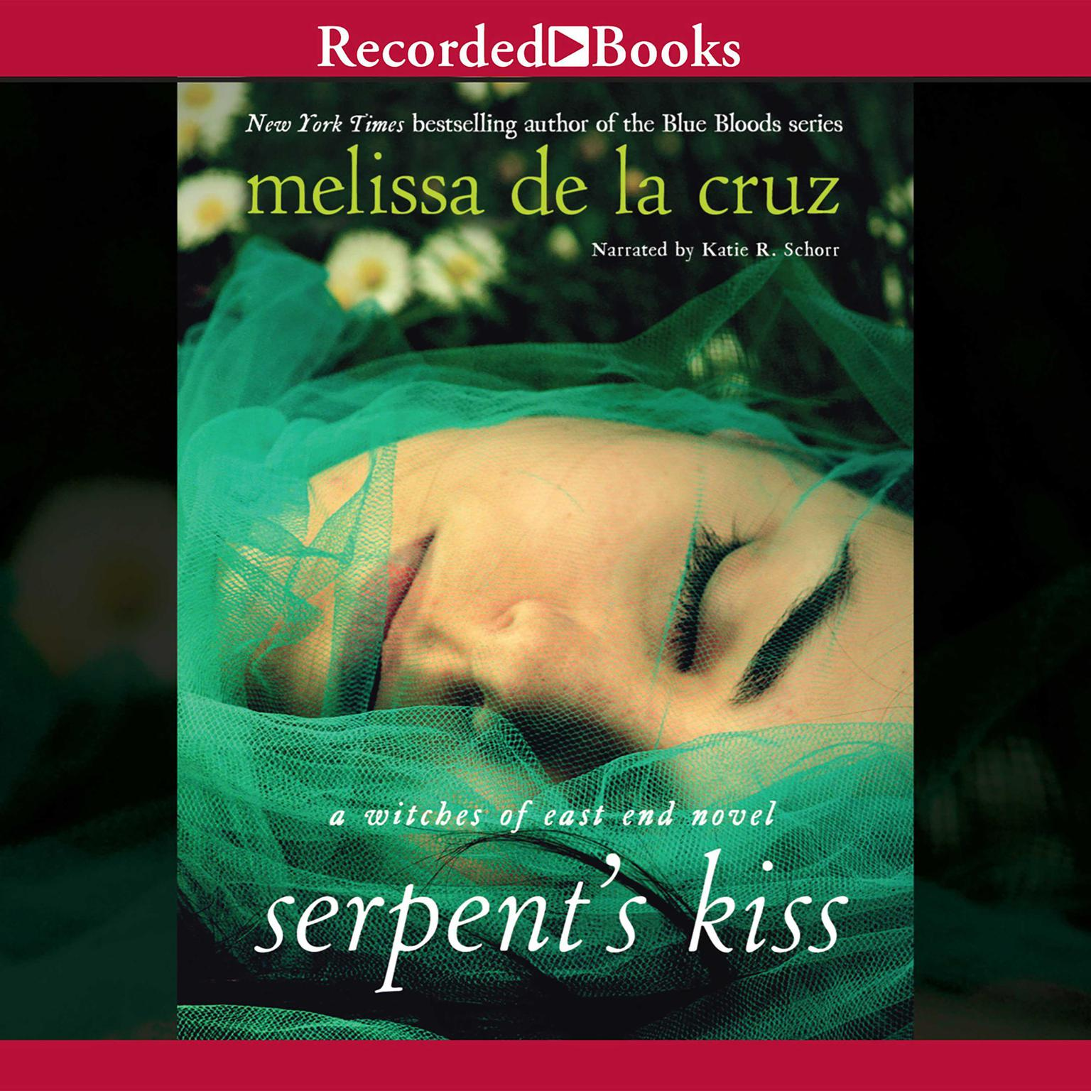 Printable Serpent's Kiss Audiobook Cover Art