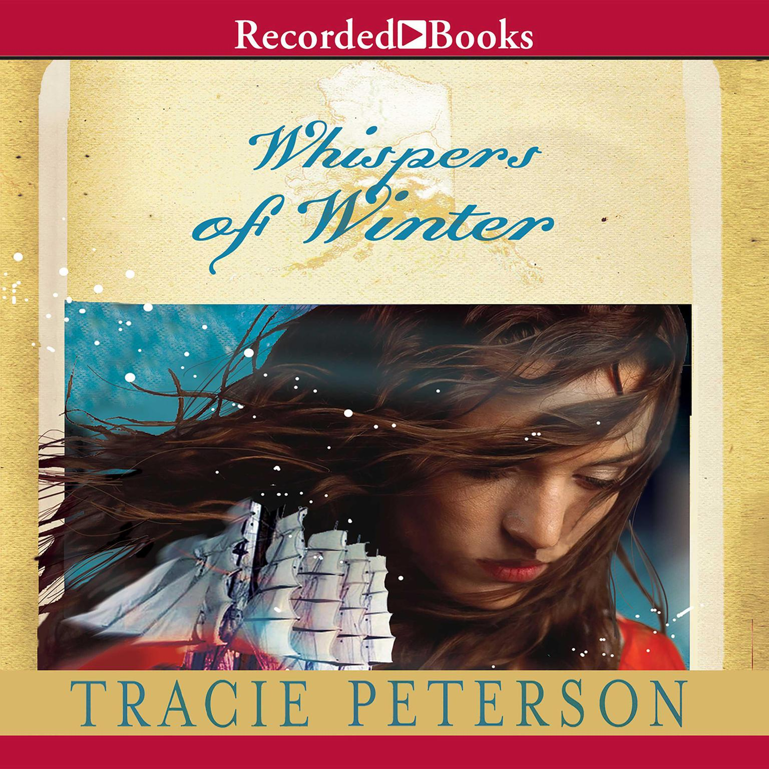 Printable Whispers of Winter Audiobook Cover Art