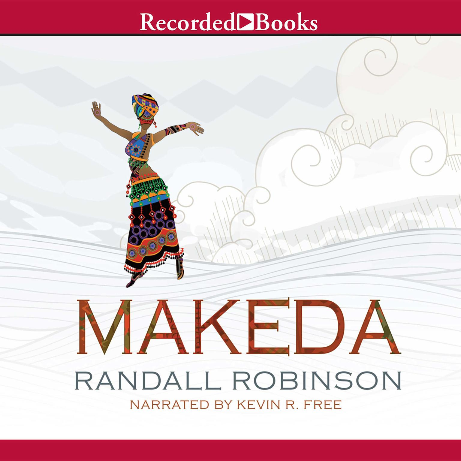 Printable Makeda Audiobook Cover Art