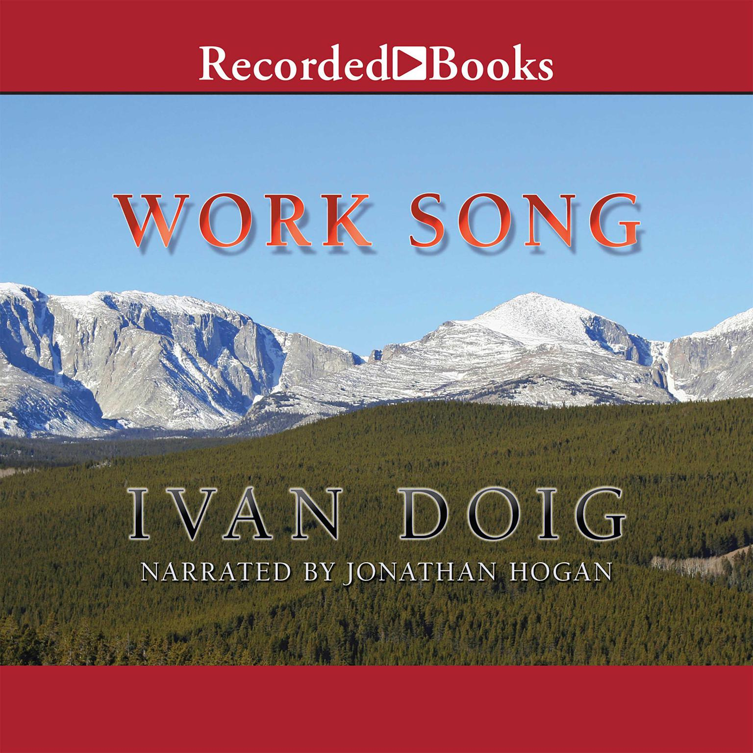 Printable Work Song Audiobook Cover Art